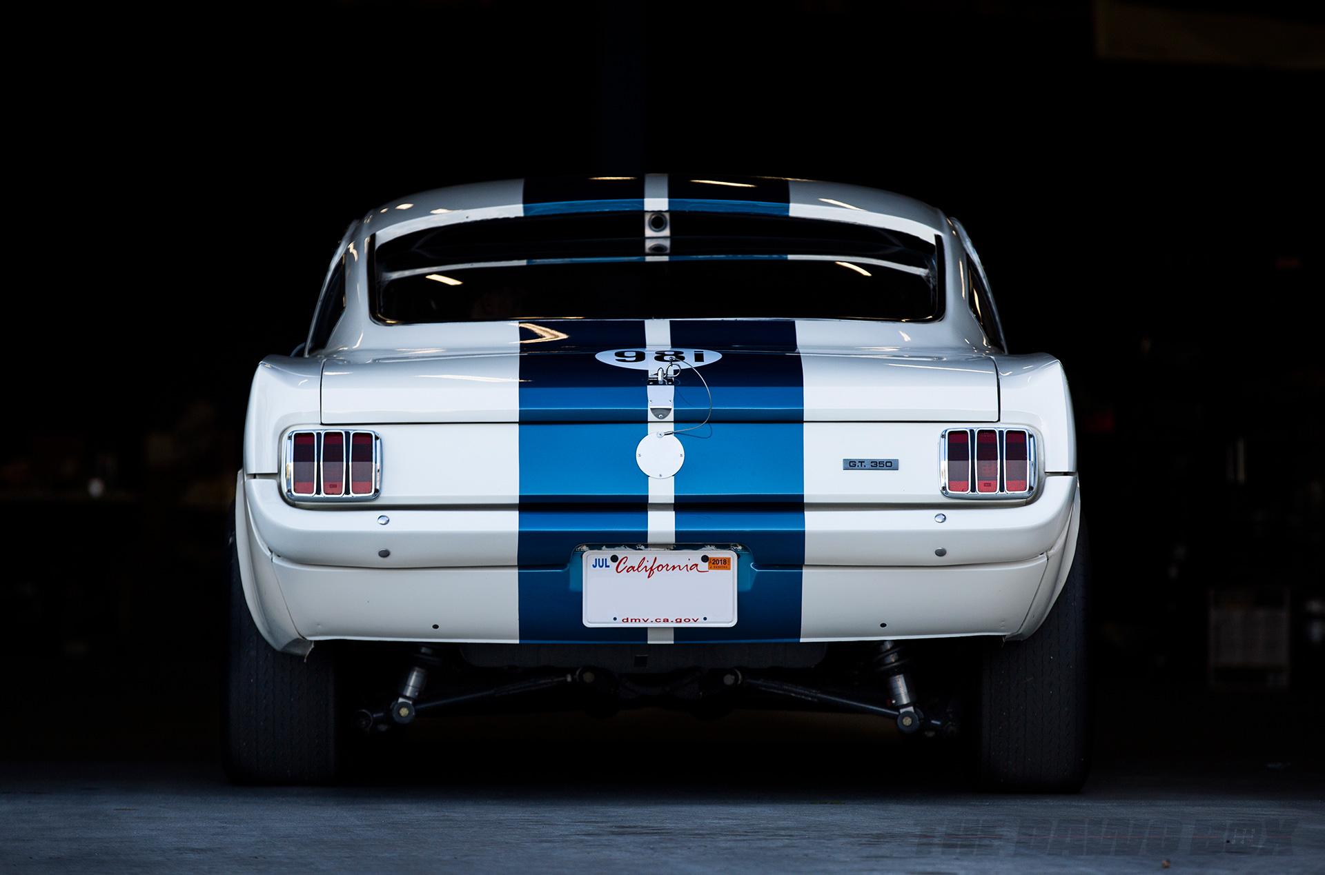 OCV Mustangs, G.T. 350R Rear