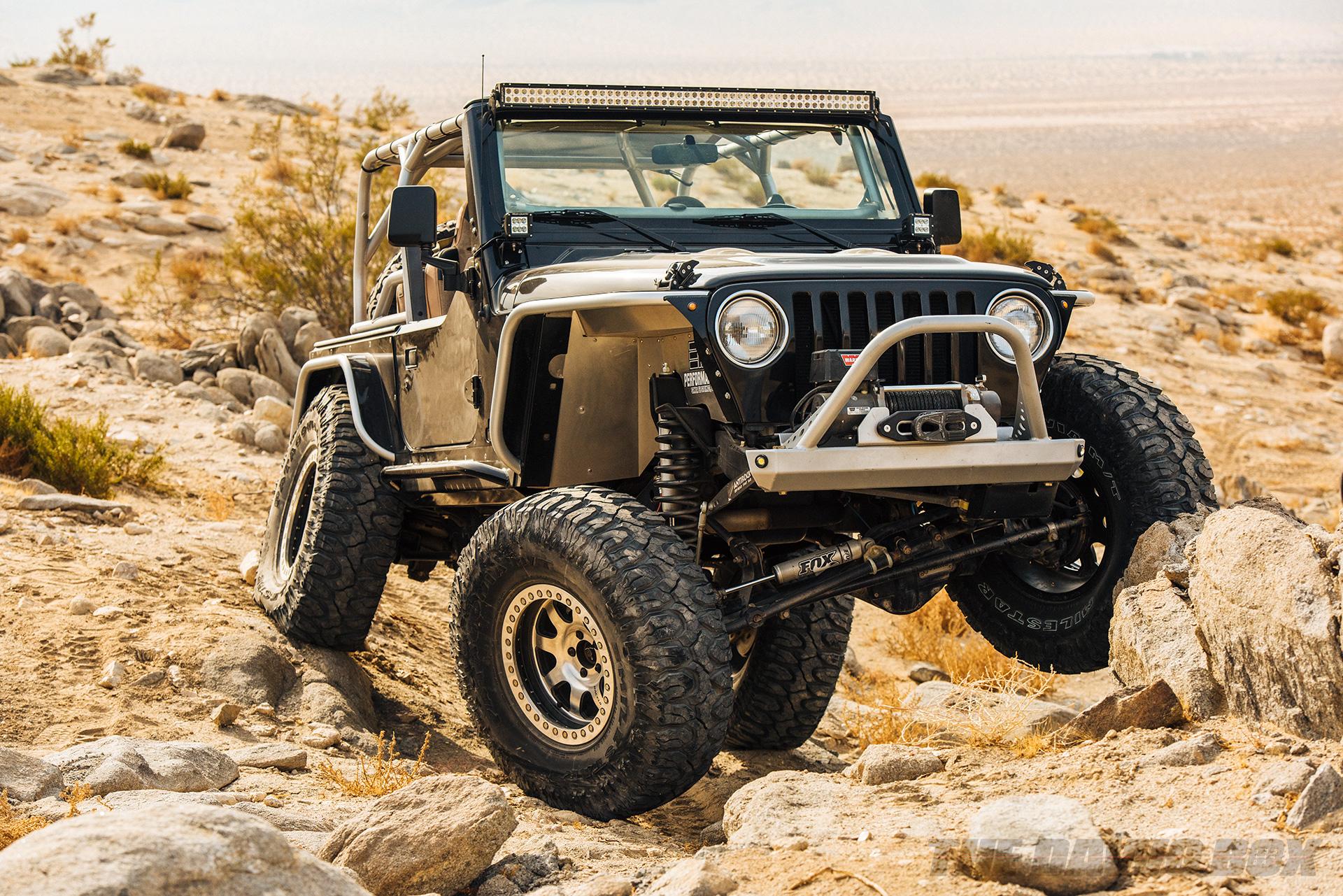 Jason Zamora's 2000 Jeep Wrangler TJ, Flex