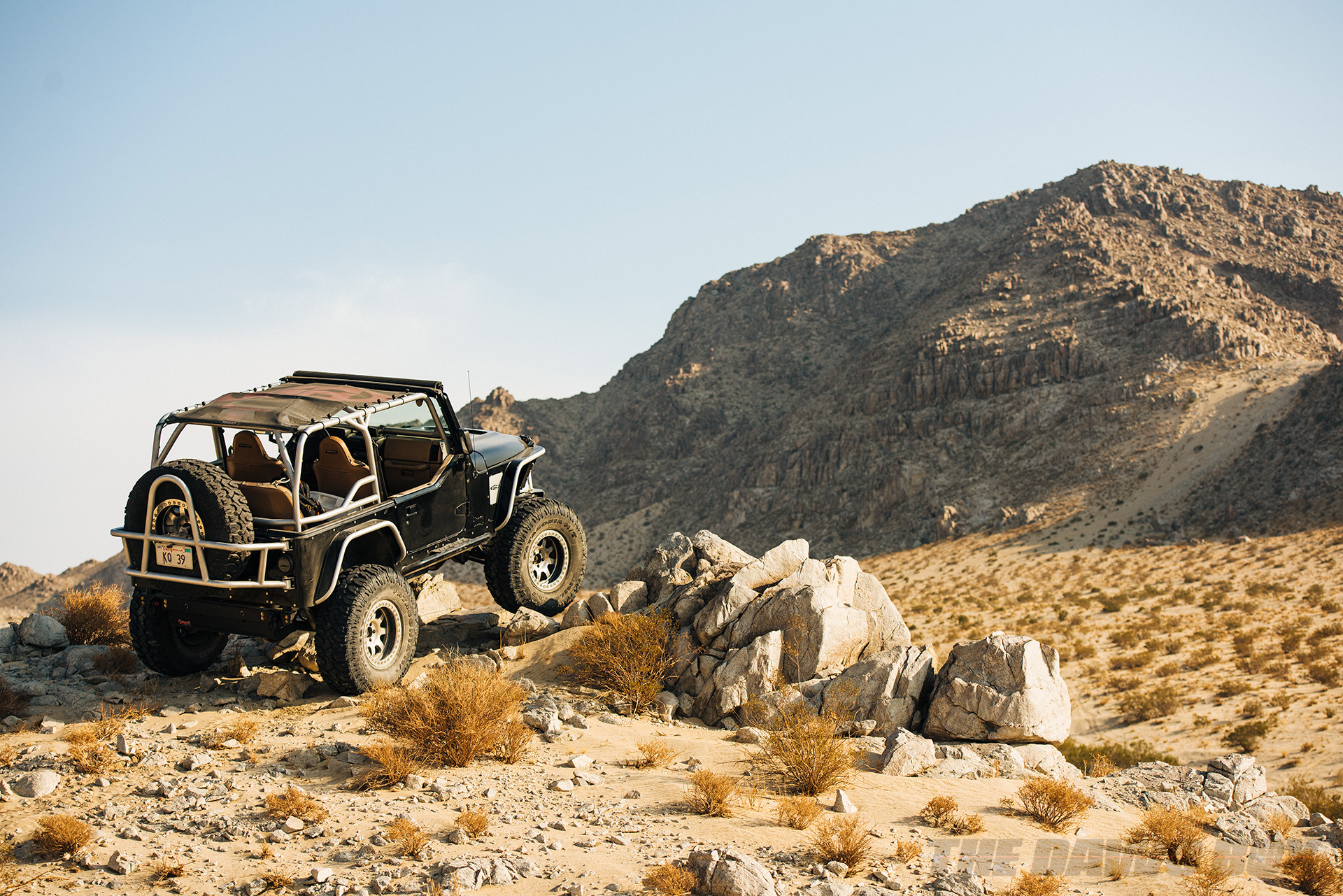 Jason Zamora's 2000 Jeep Wrangler TJ, On The Rocks