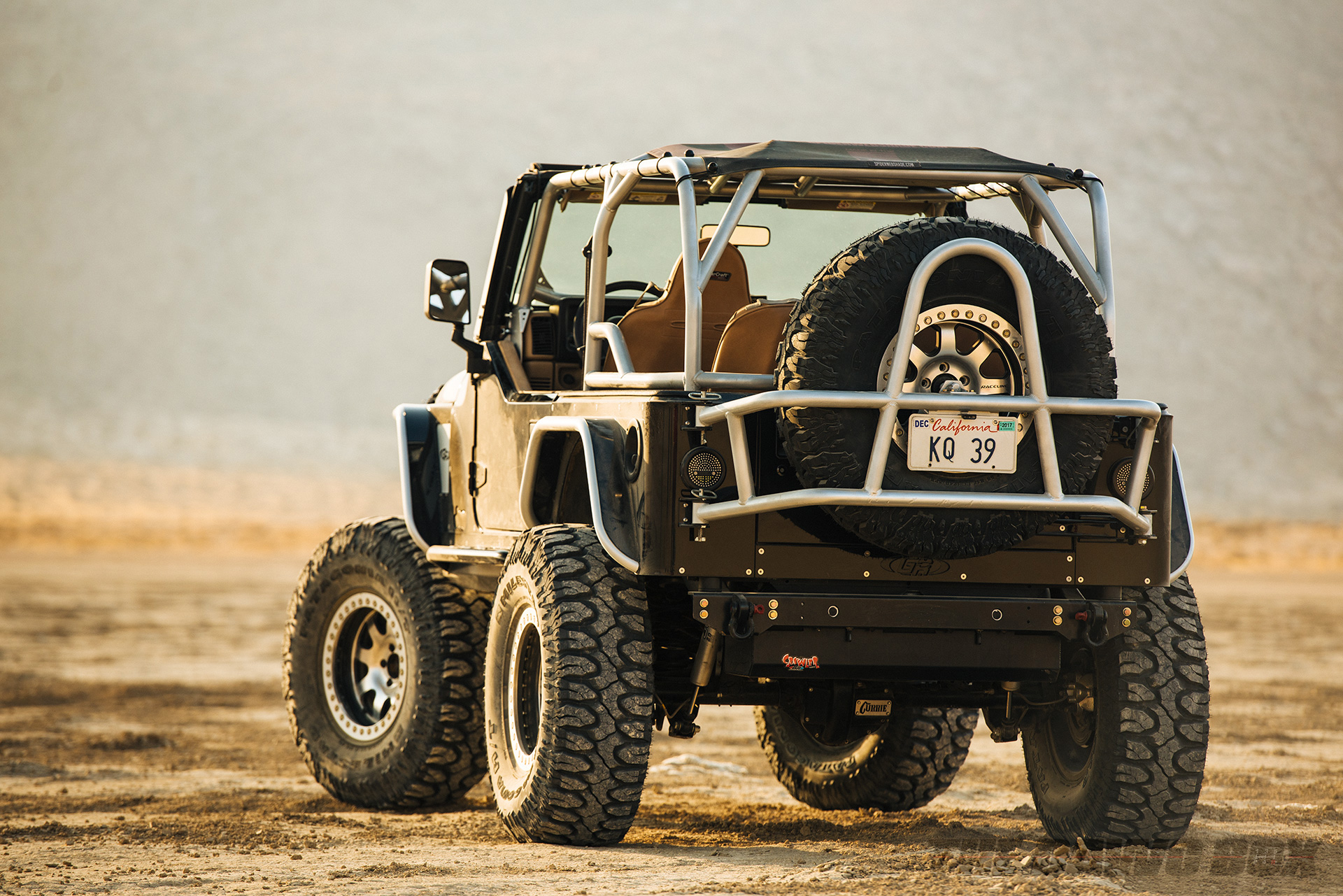 Jason Zamora's 2000 Jeep Wrangler TJ, Back View