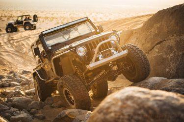 Jason Zamora's 2000 Jeep Wrangler TJ, Front View