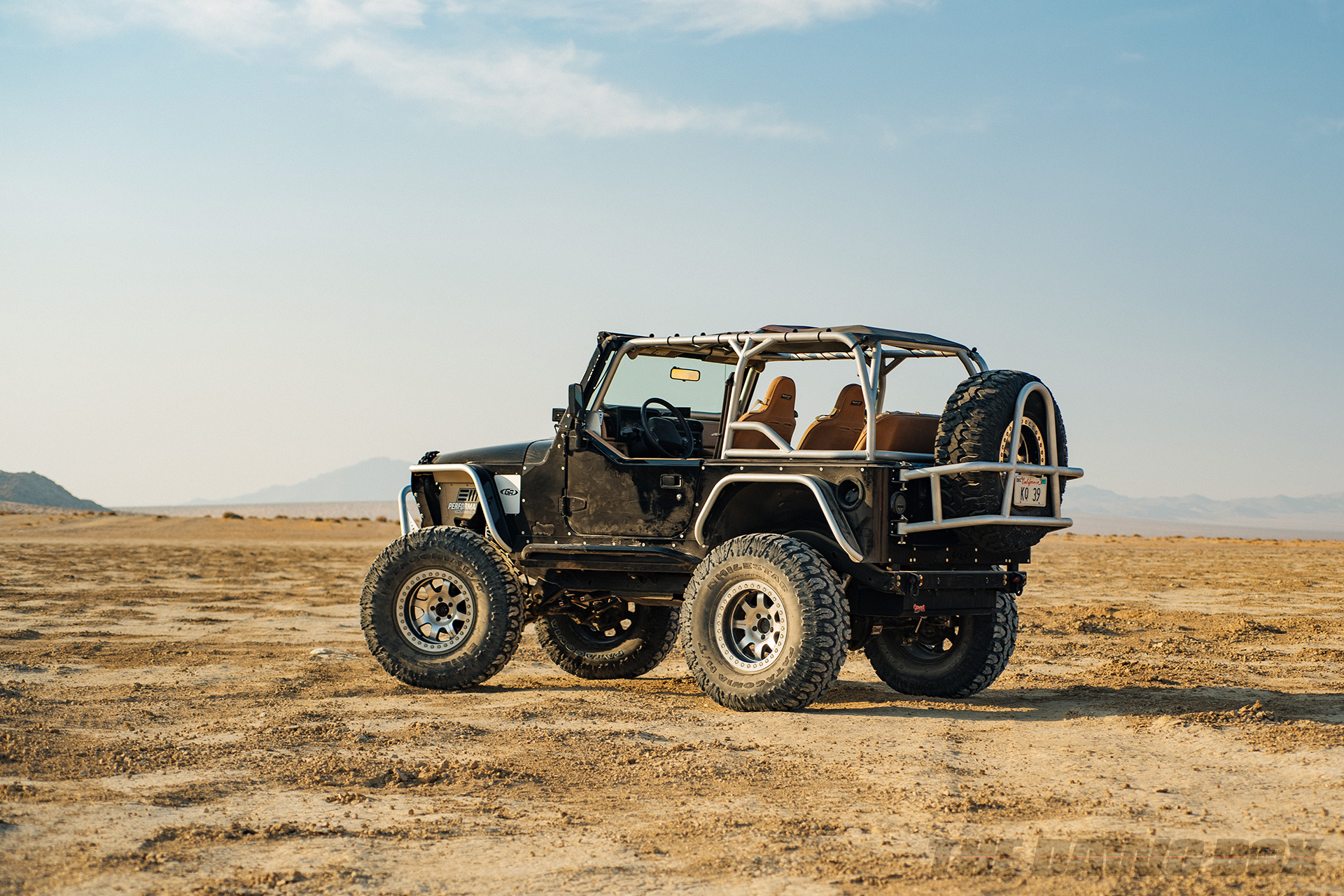 Jason Zamora's 2000 Jeep Wrangler TJ, Back Corner View
