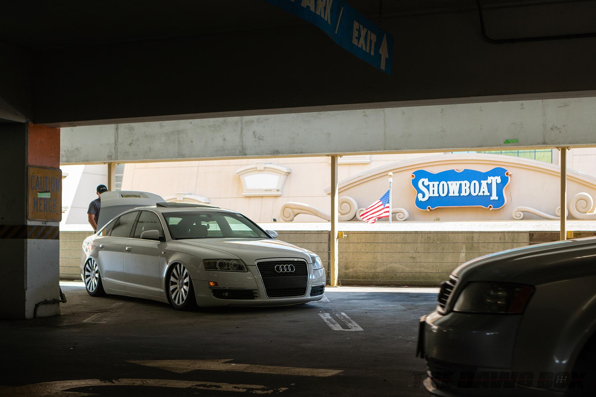 Audi at H2Oi garage