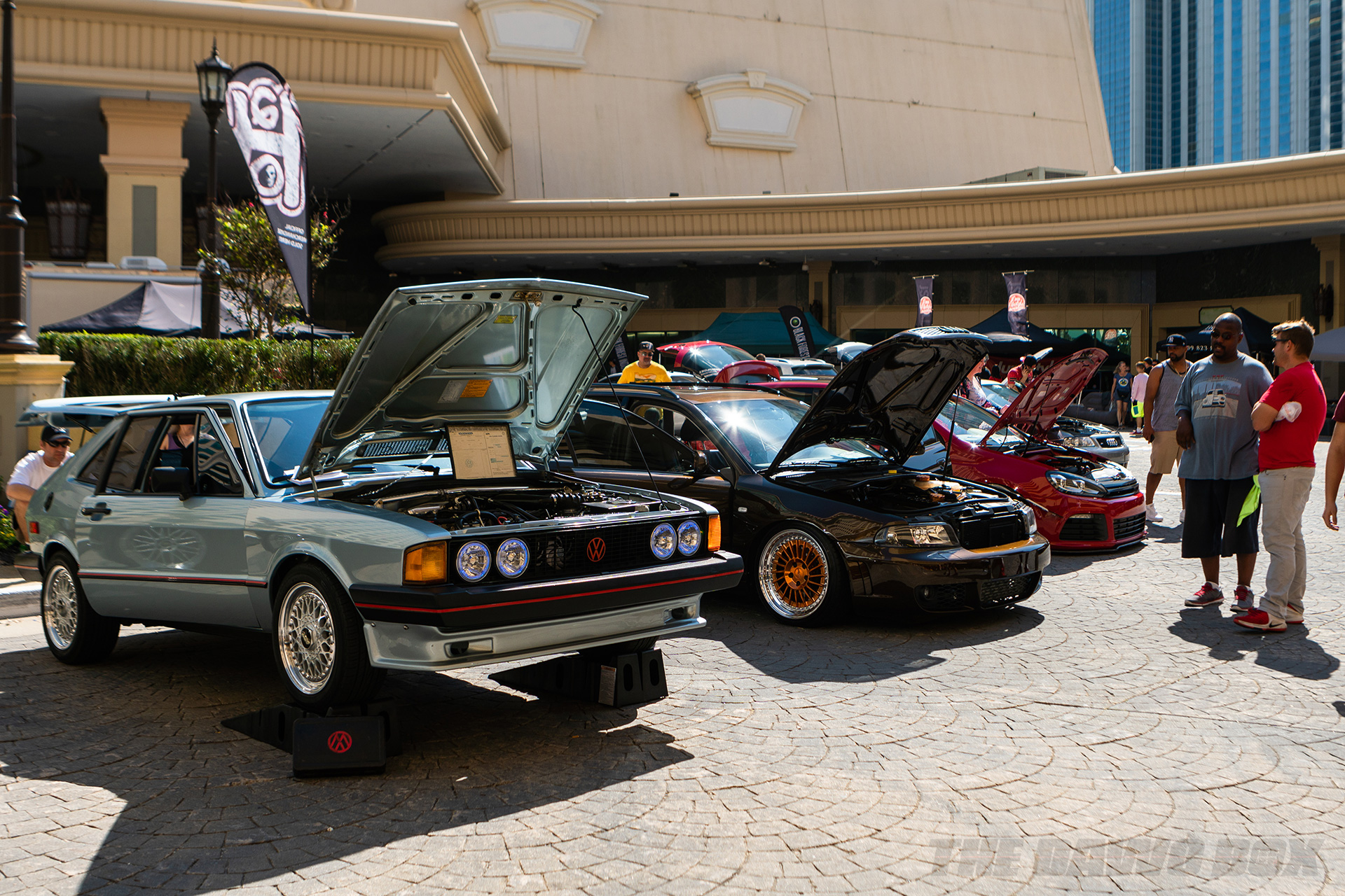 AUDI and VWs at H2Oi