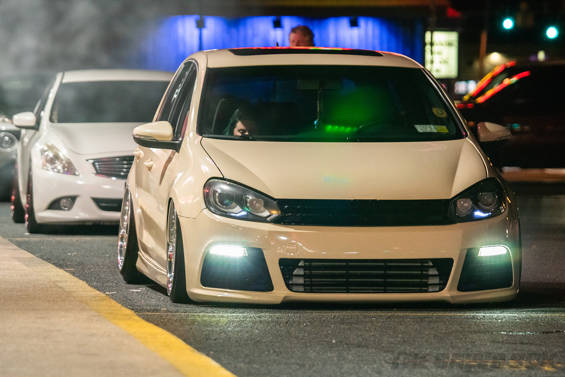 Slammed VW GTI MKVI at H2Oi 2018