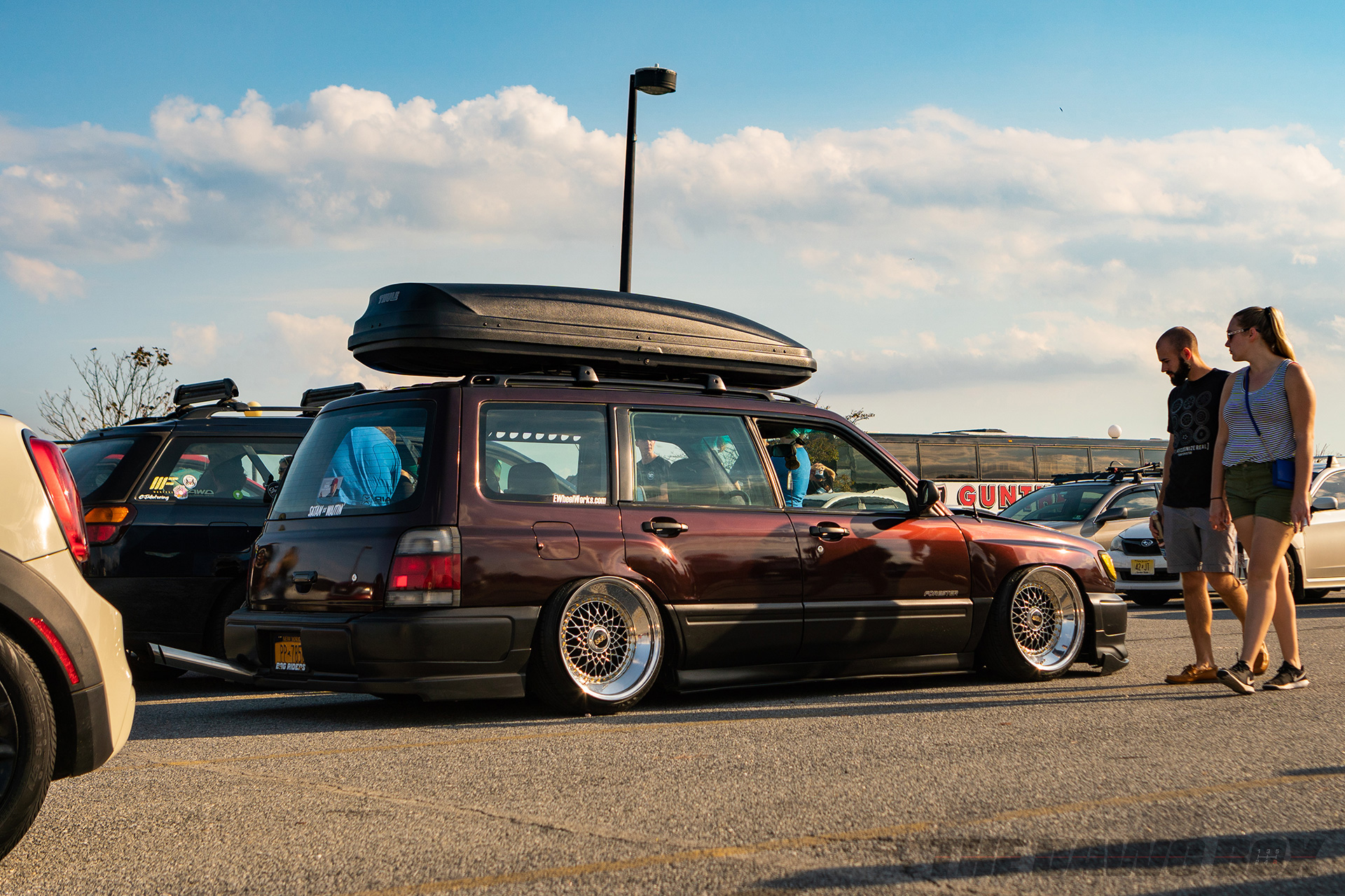 Slammed Subaru Forester at H2Oi