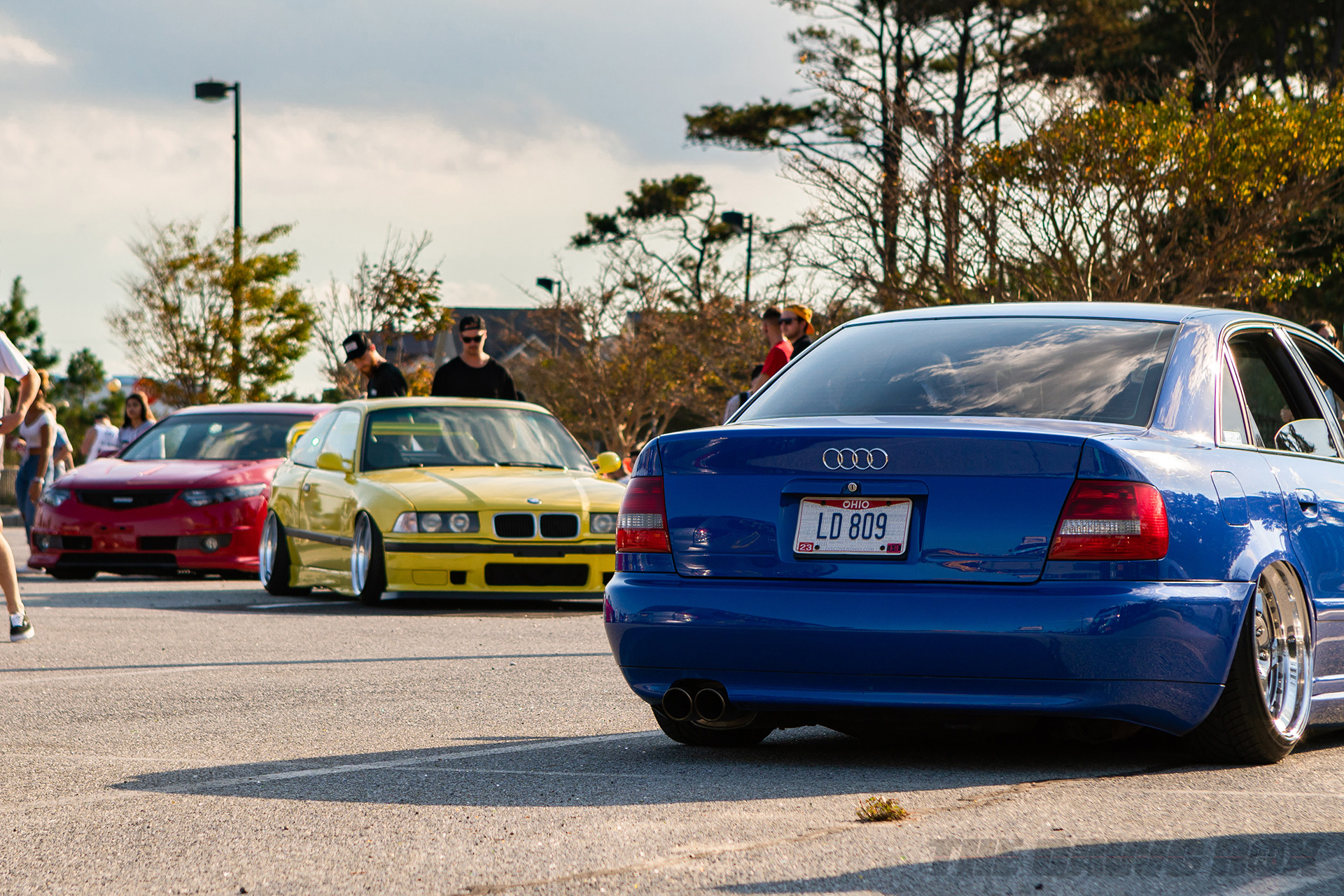 Slammed Audis and BMWs at H2Oi