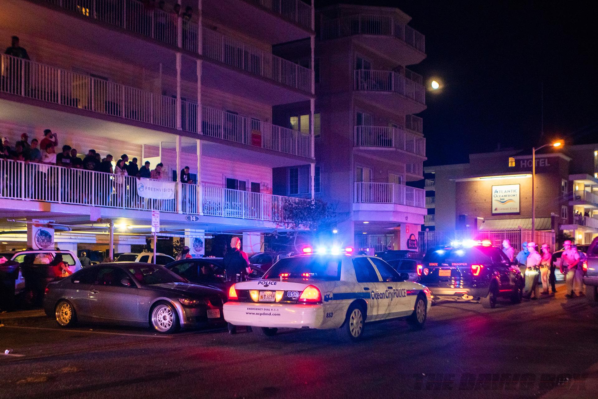 Cops shutting it down
