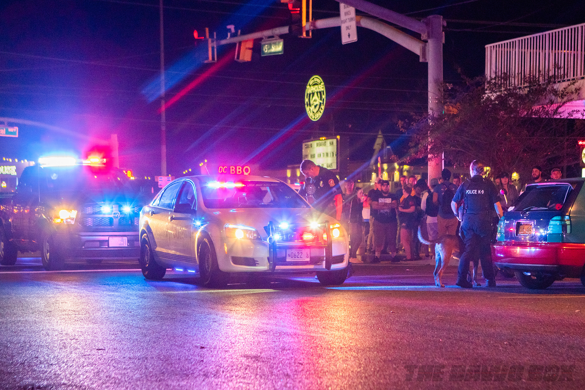 Cops shutting it down at H2Oi 2018