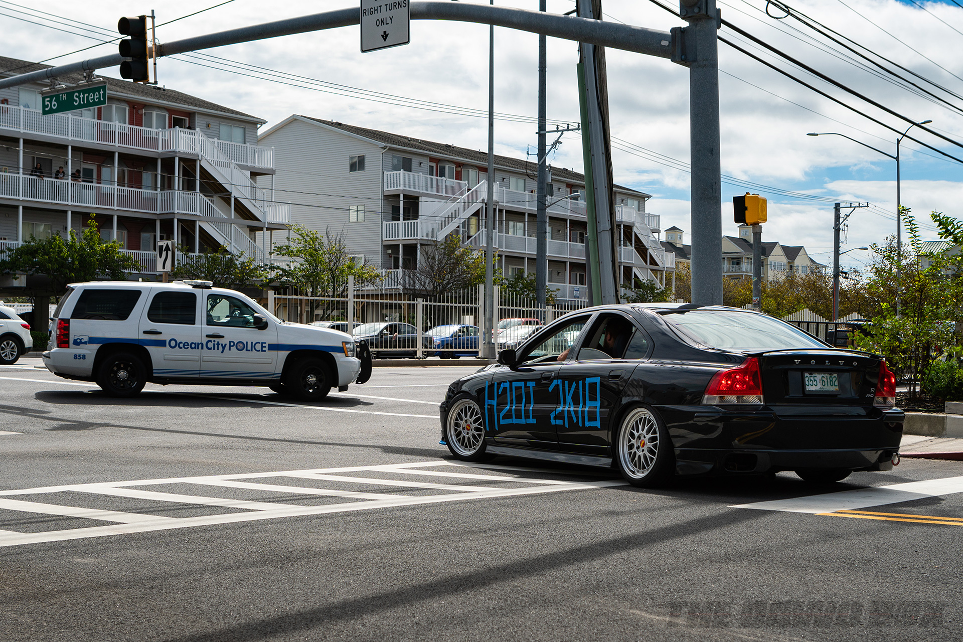 Volvo at the other H2Oi