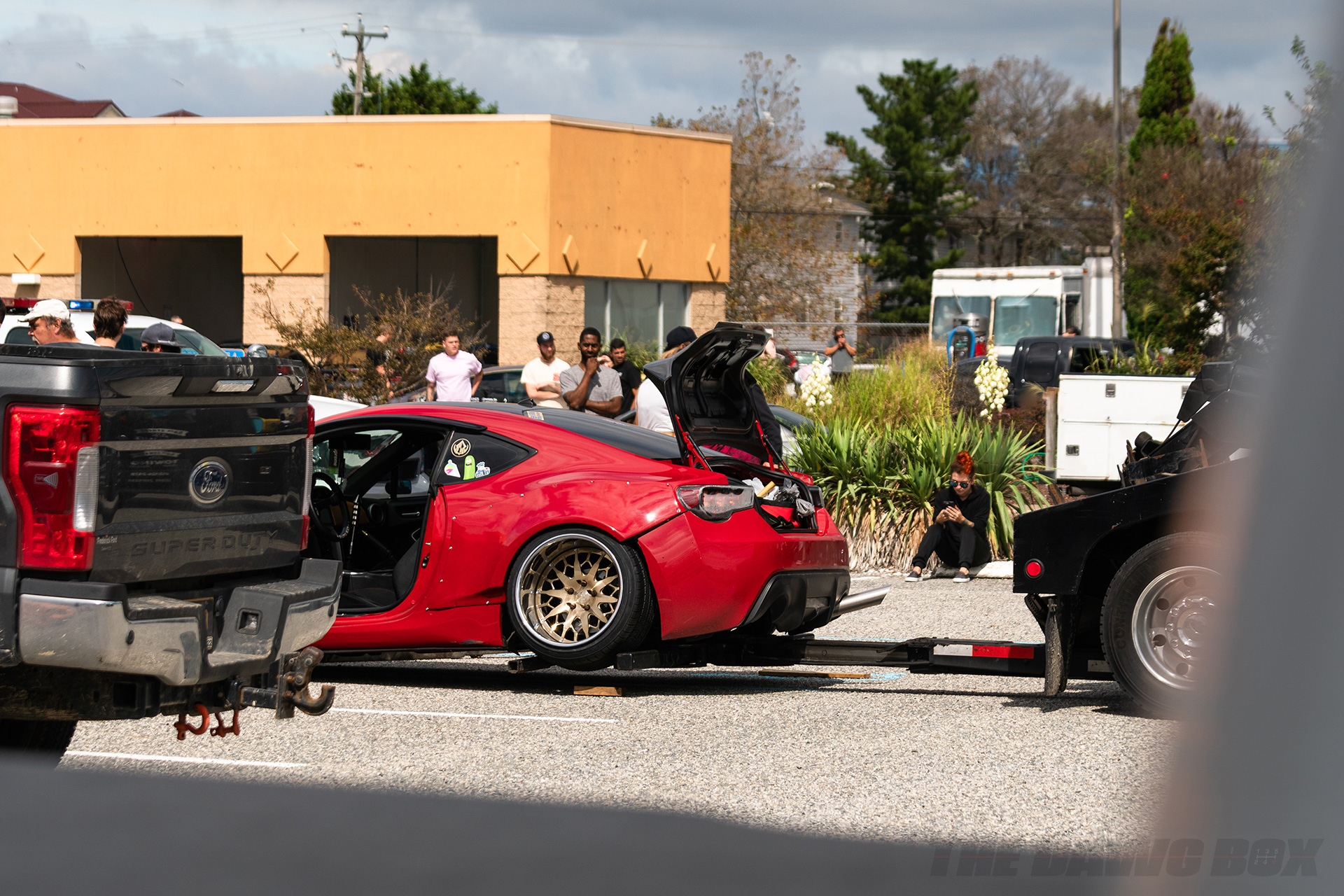FRS towed away