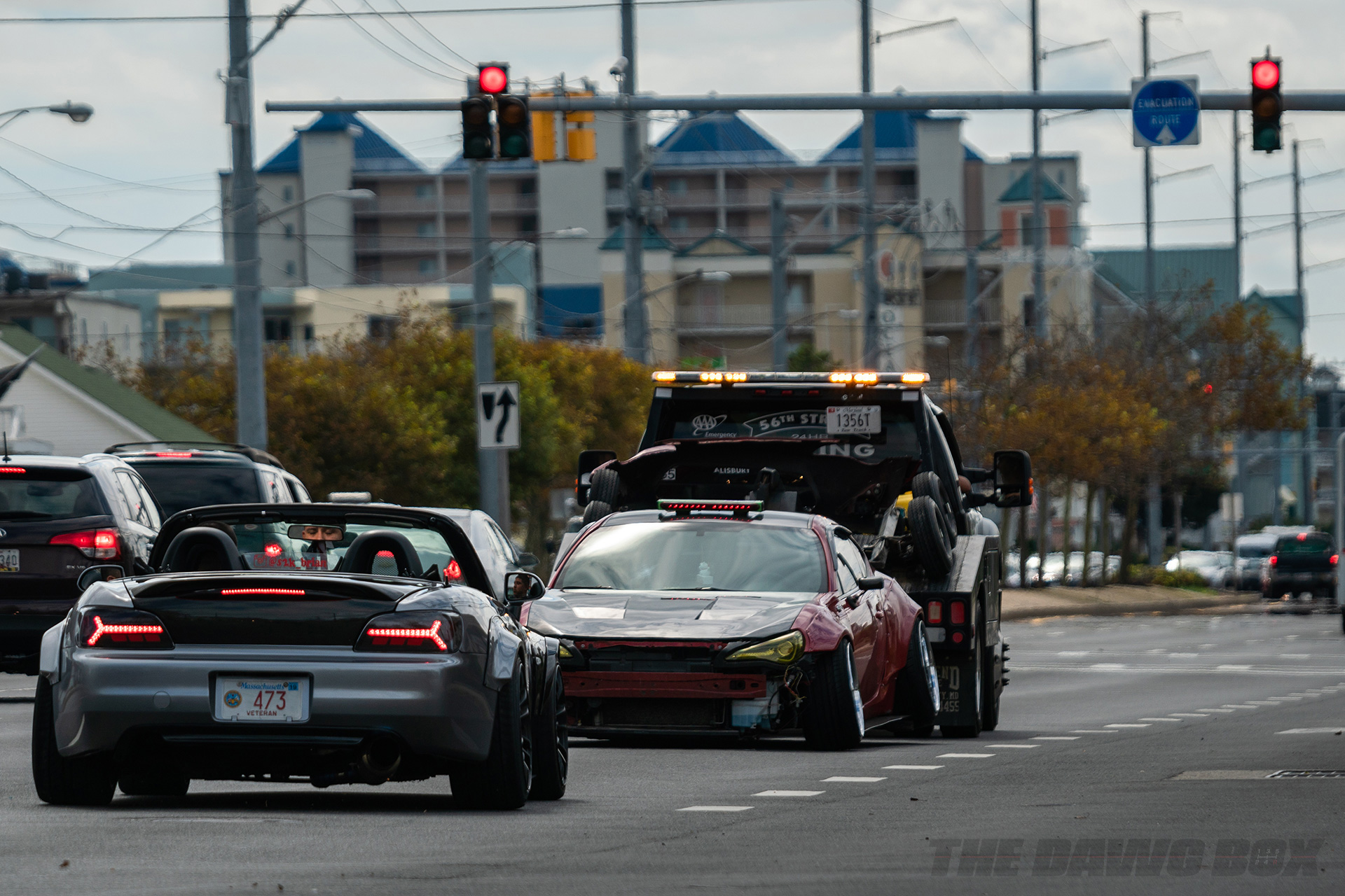 FRS towed at H2Oi by the cops