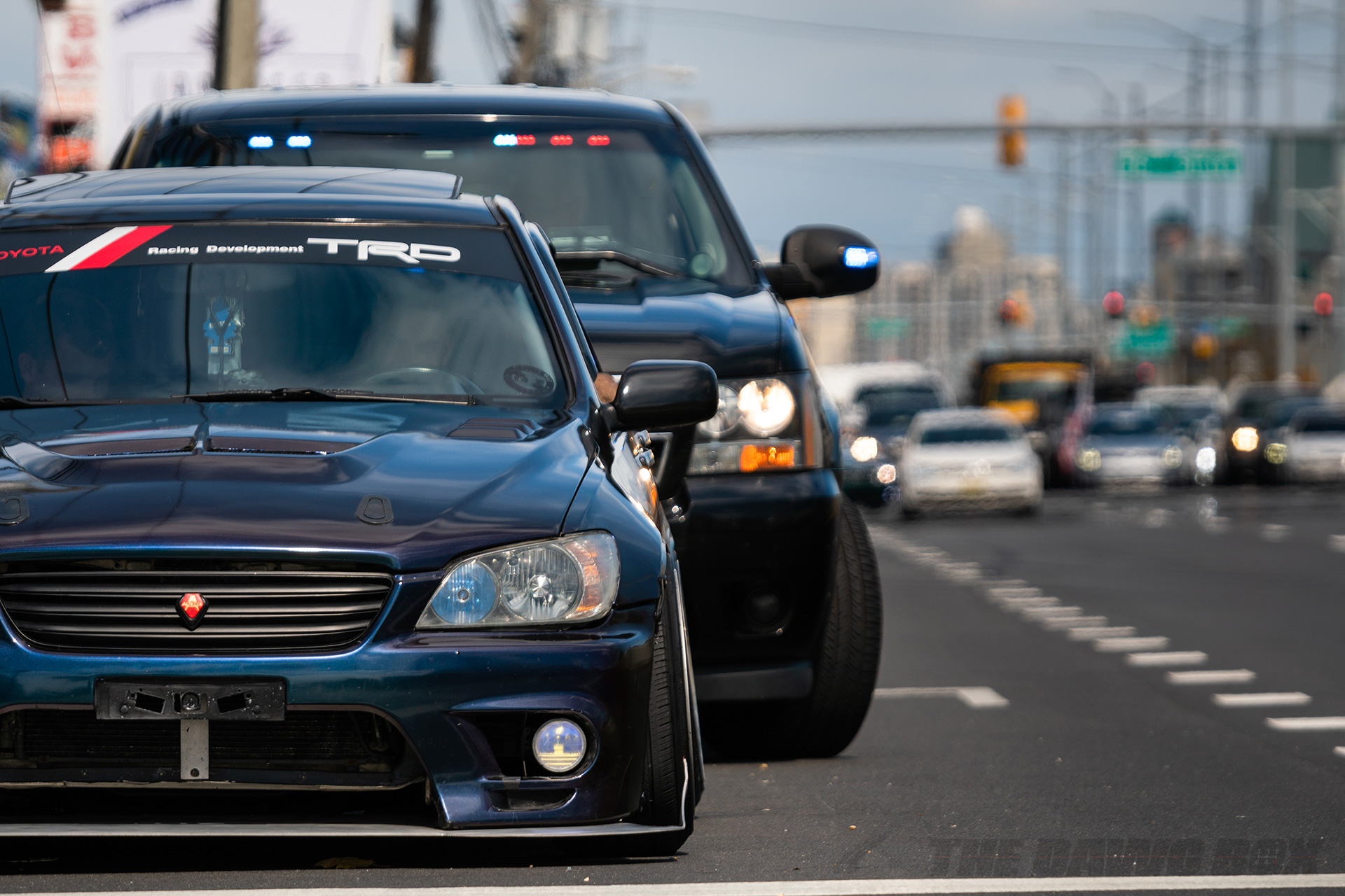 Altezza pulled over by cop at H2Oi