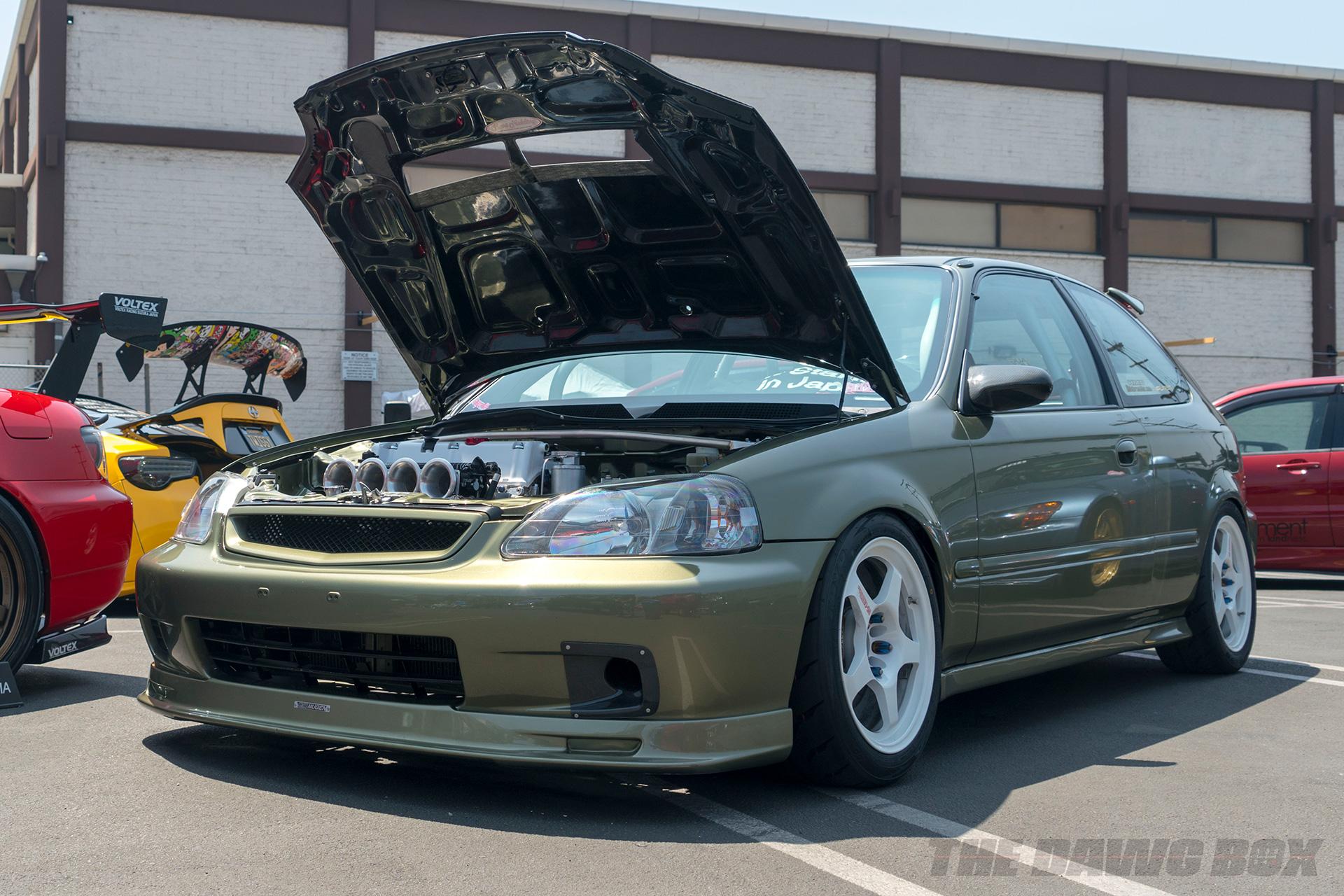 Nisei Week Car Show, EK Hatch