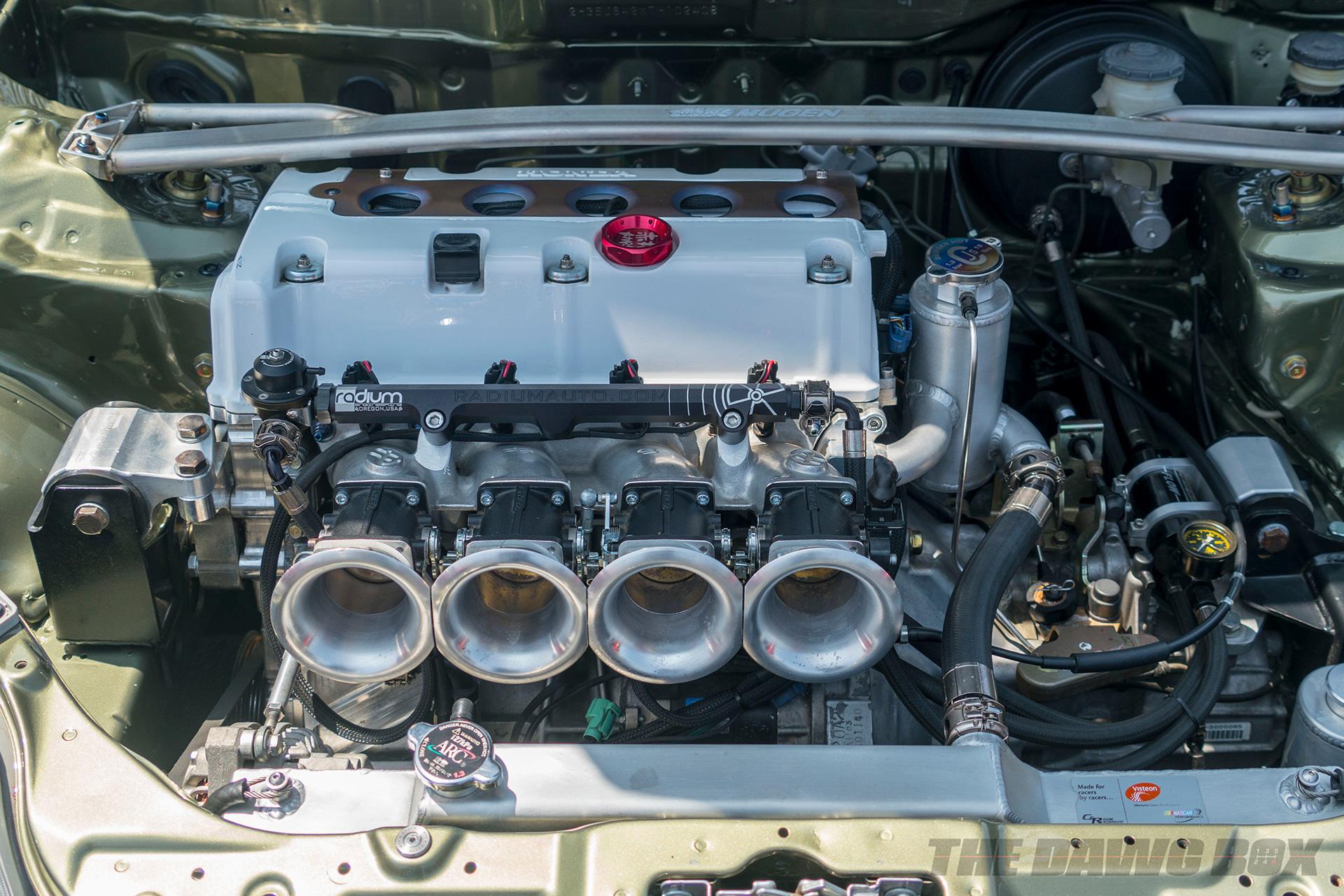 Nisei Week Car Show, EK Engine