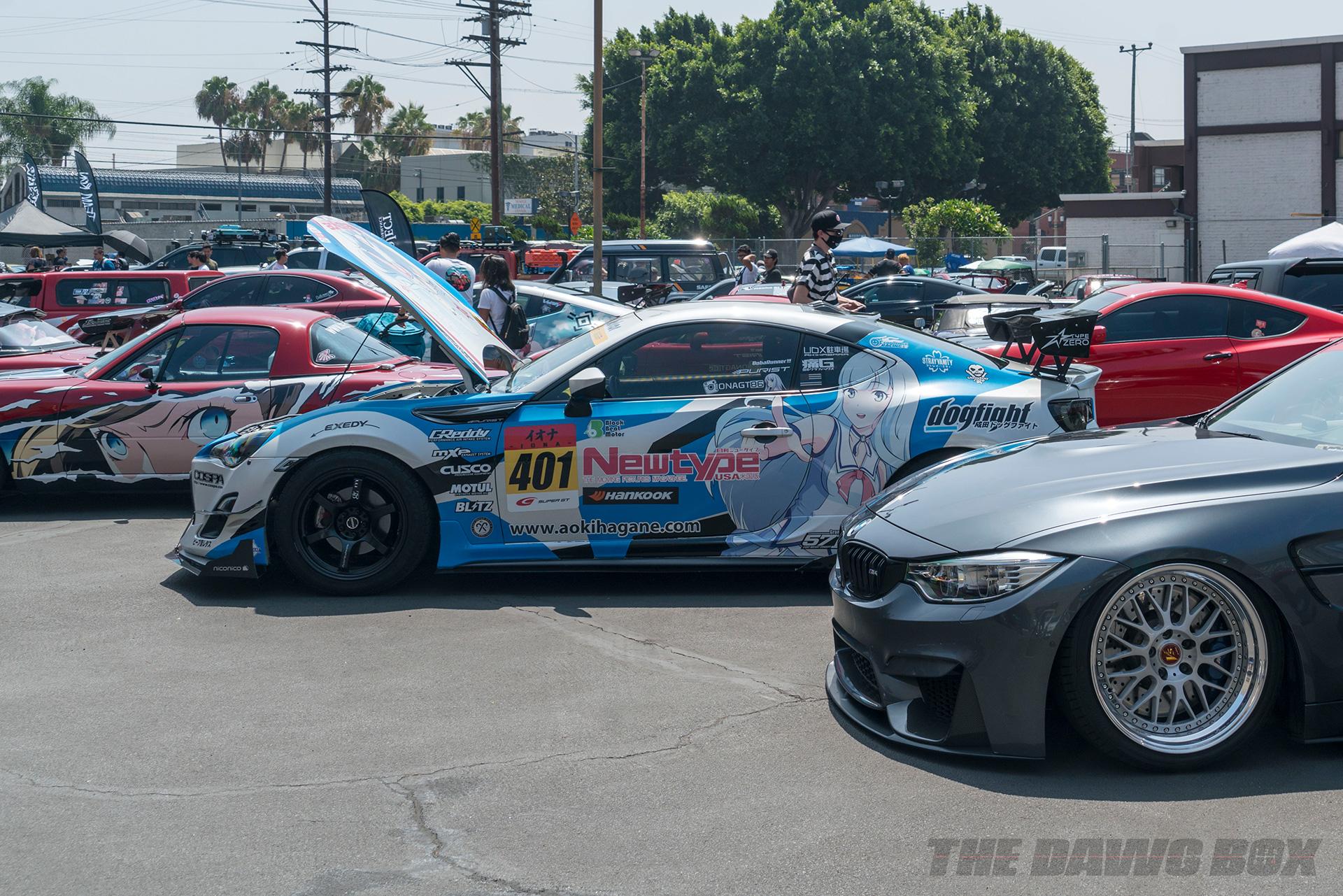 Nisei Week Car Show, Anime Wraps