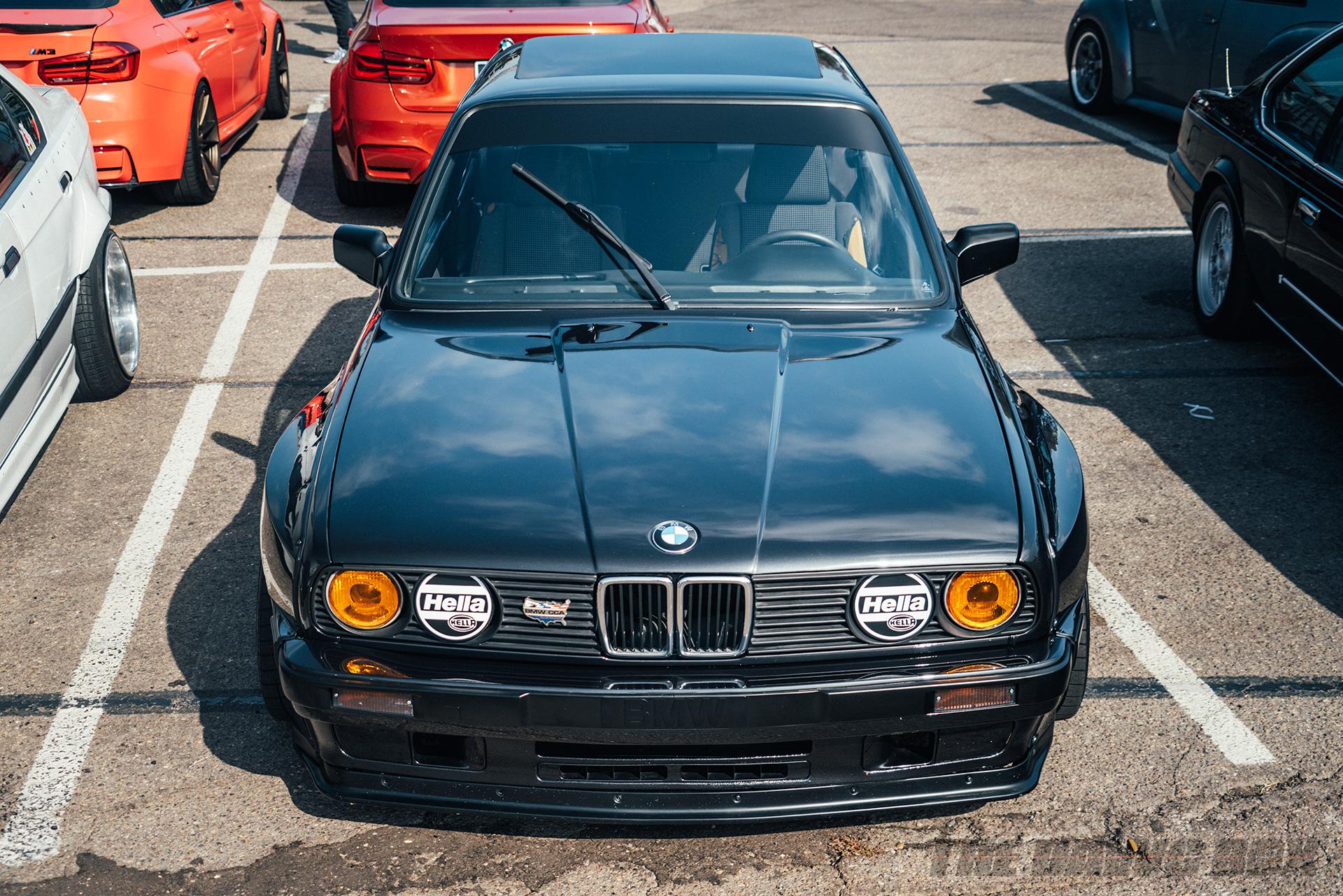 Black BMW at Big Socal Euro