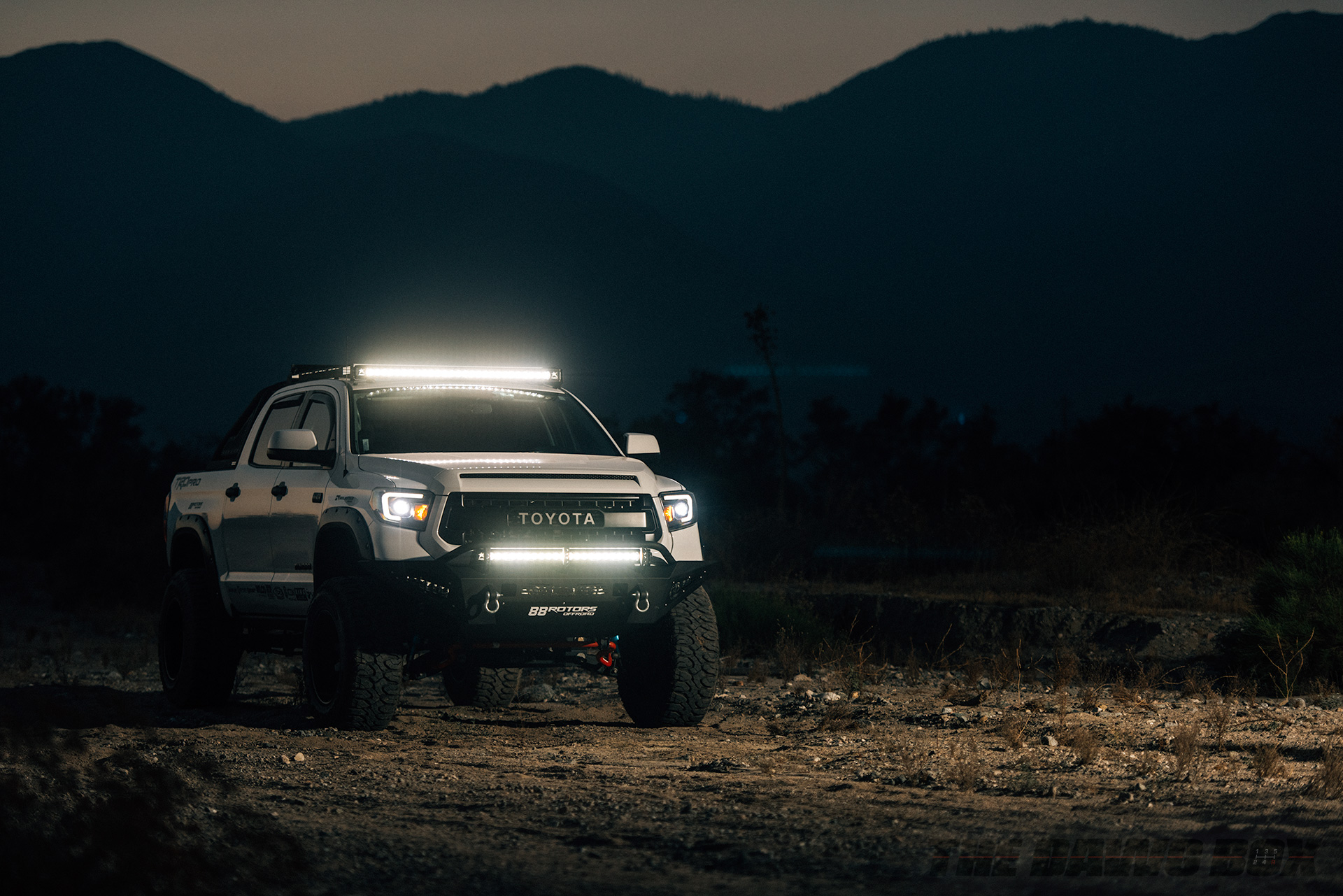 What are LED Lights?, Tundra with LED Bars