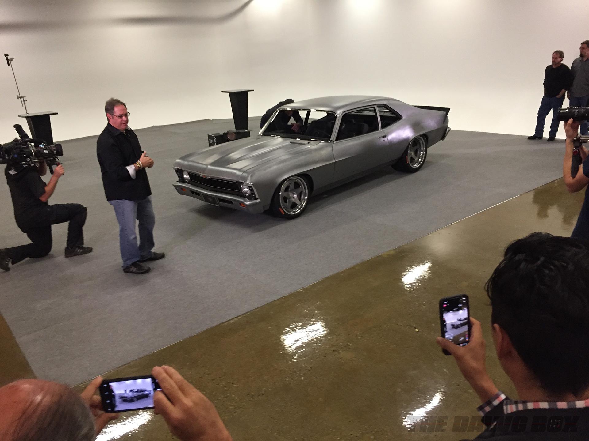 Joe Rogan's Novaro, a combination of the Chevy Nova and Camaro