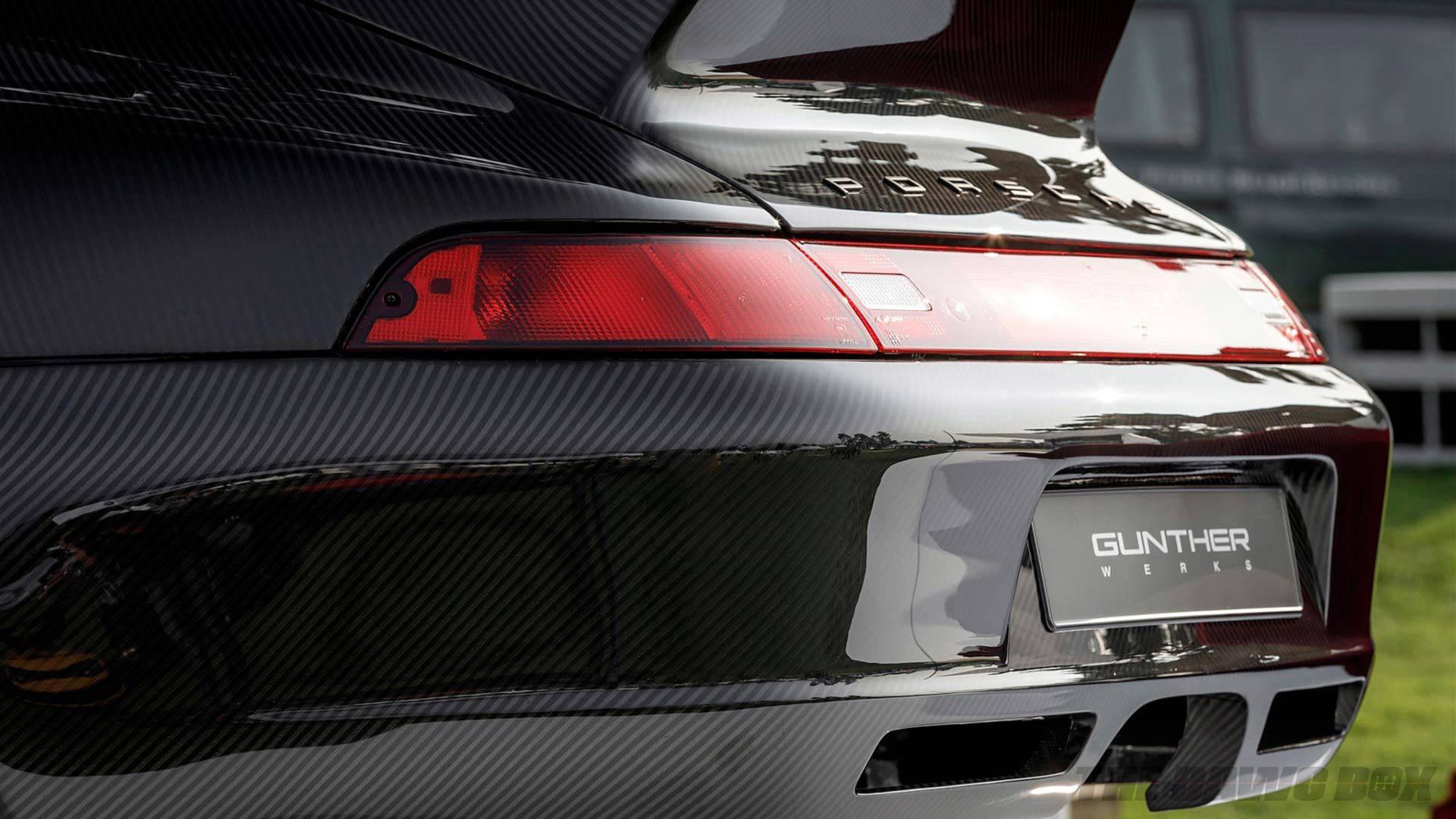 Carbon Fiber Porsche rear end