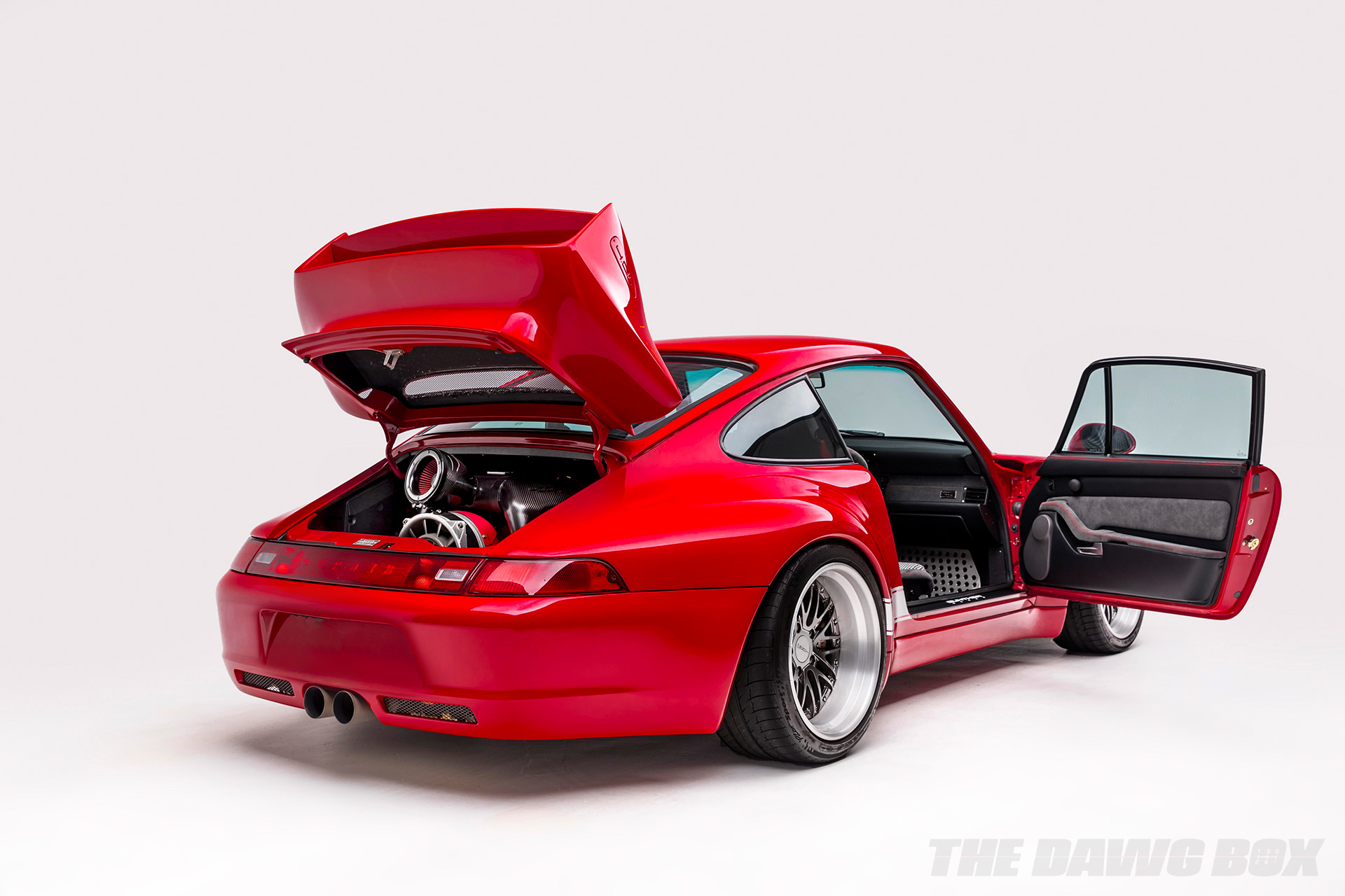 Carbon Fiber Porsche interior