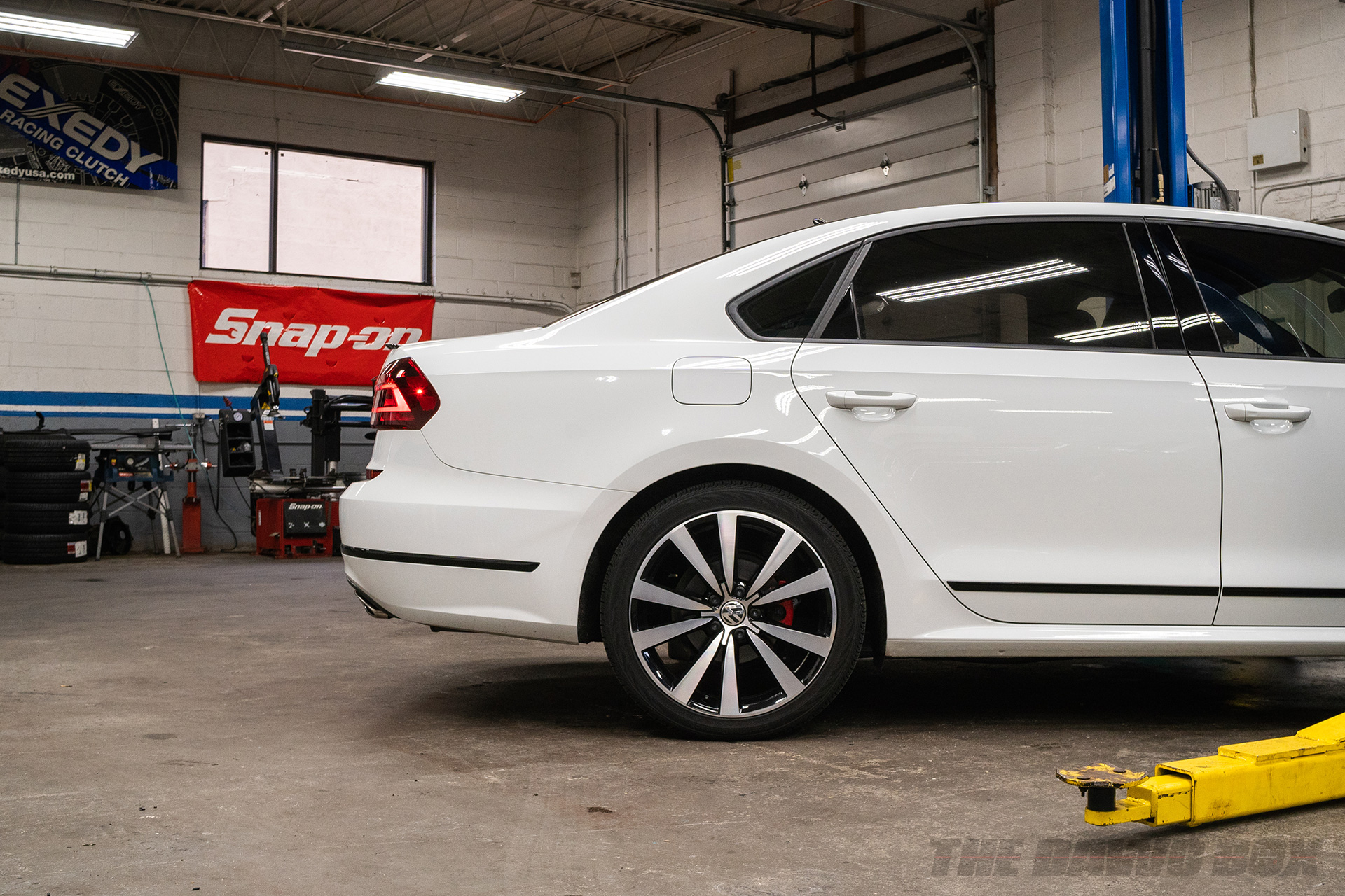 VW Jetta getting air suspension and air ride installed
