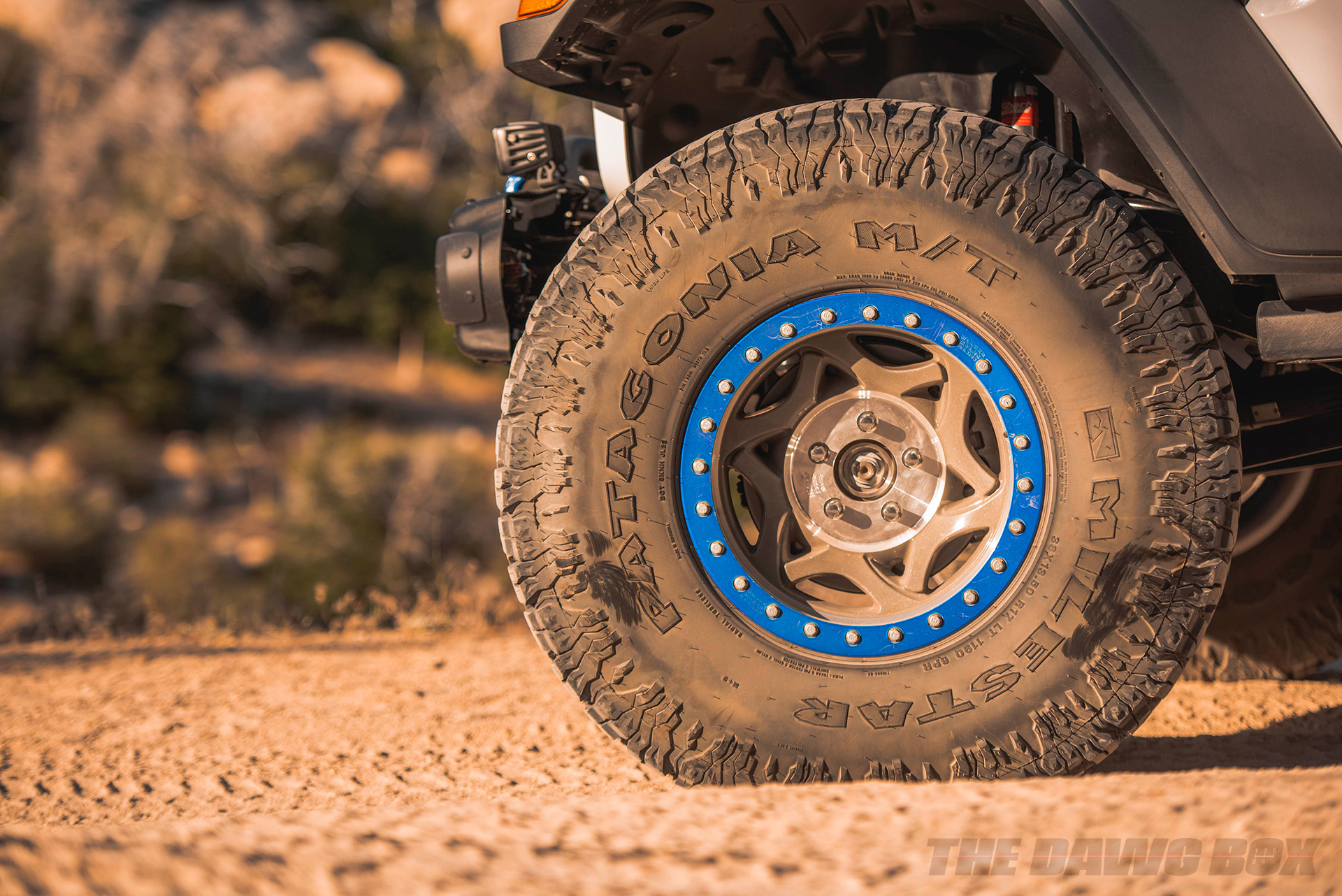 38 inch Milestar Patagonia MT tires