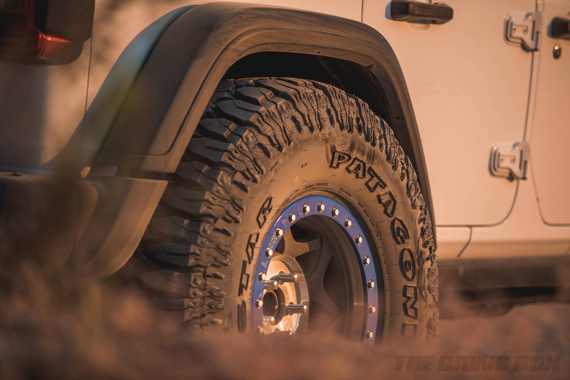Milestar Patagonia MT tires