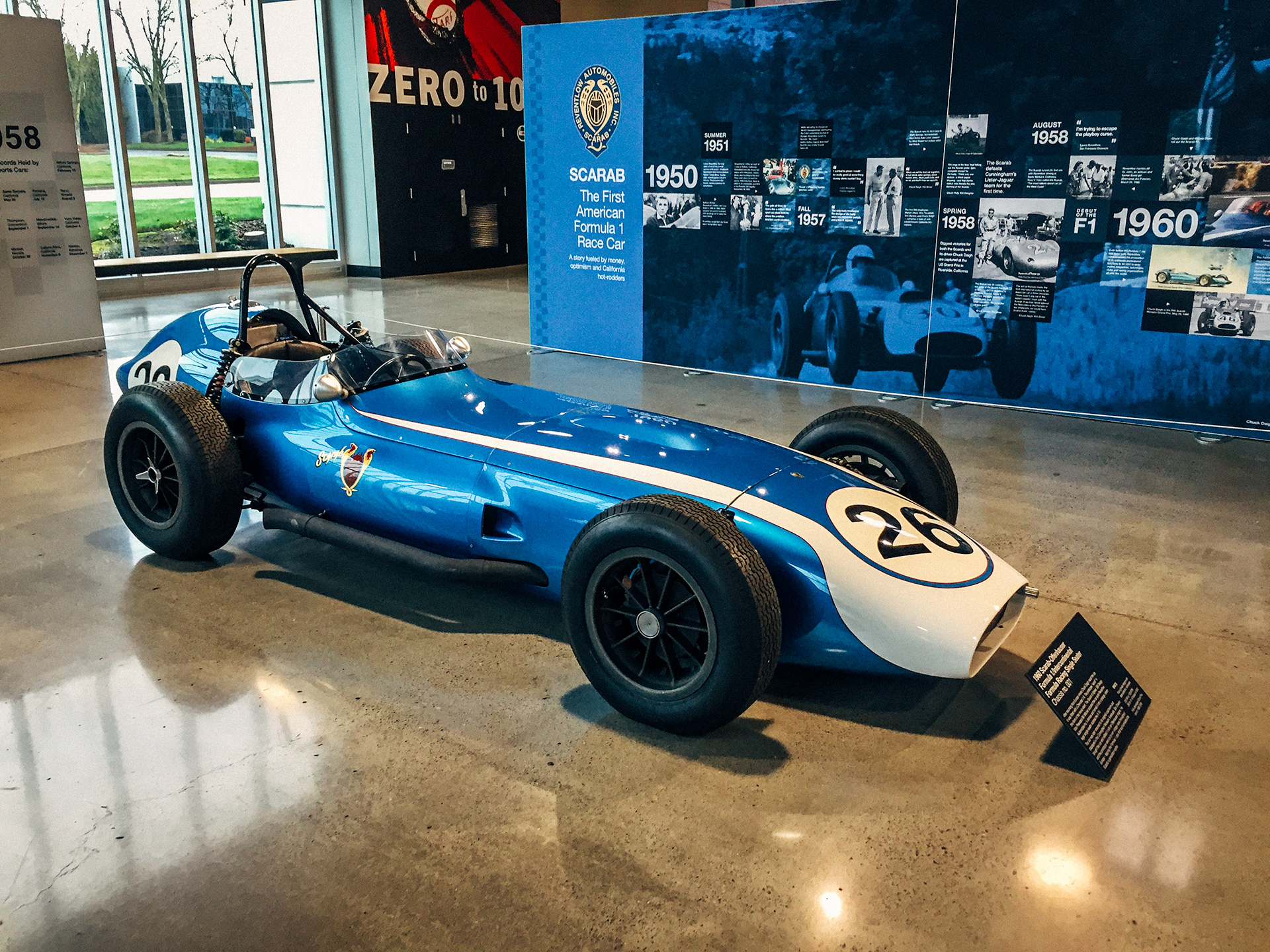 1960 Scarab-Offenhauser Formula One Racing Single-Seater at the World of Speed Museum