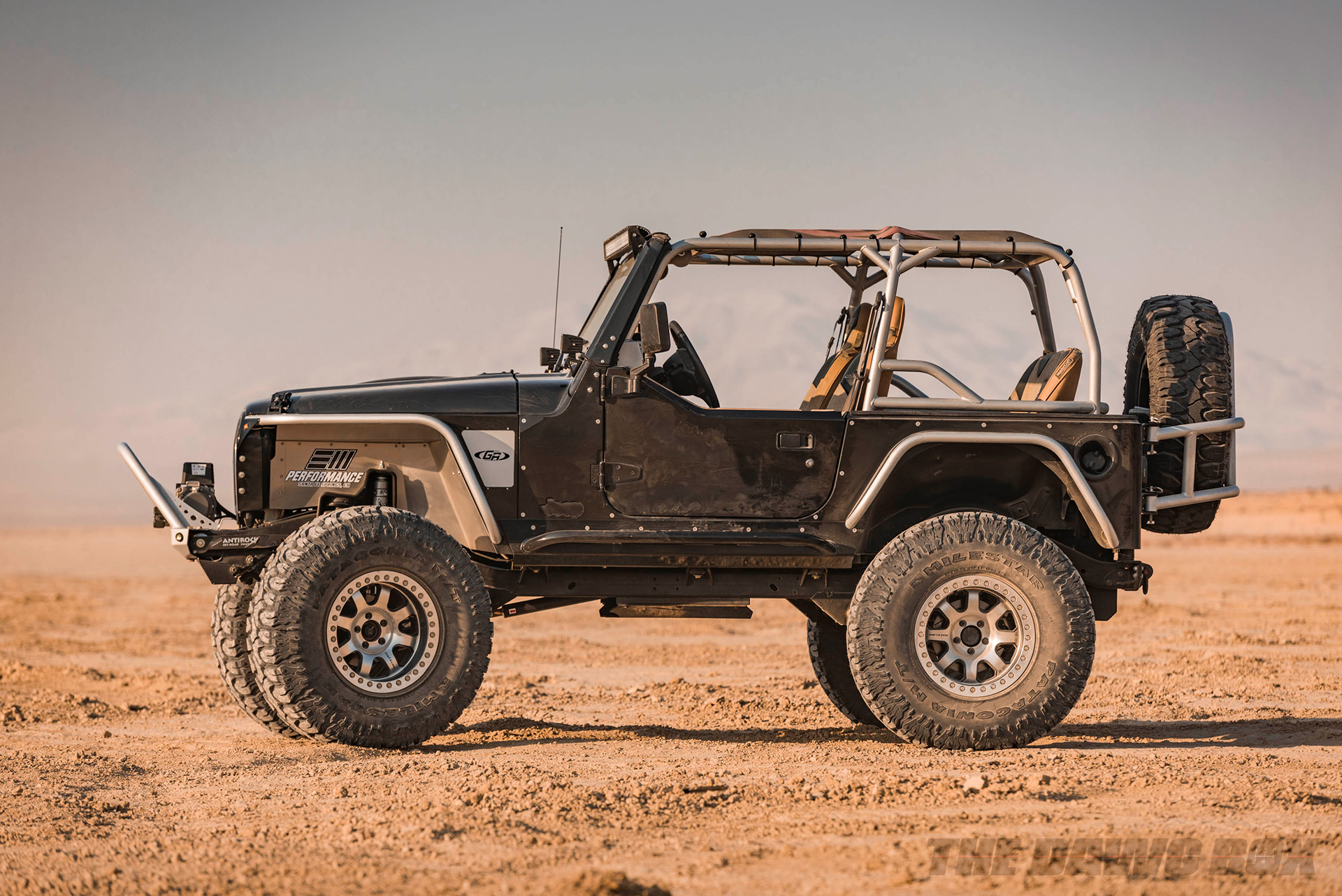 Jeep Wrangler TJ with 37 inch Patagonia MT tires