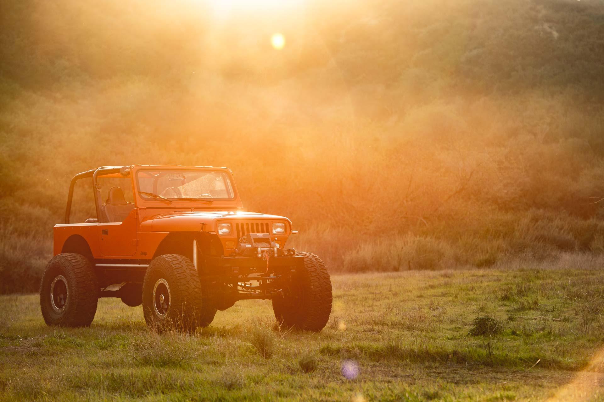 40 inch Milestar Patagonia Tires on Jeep YJ