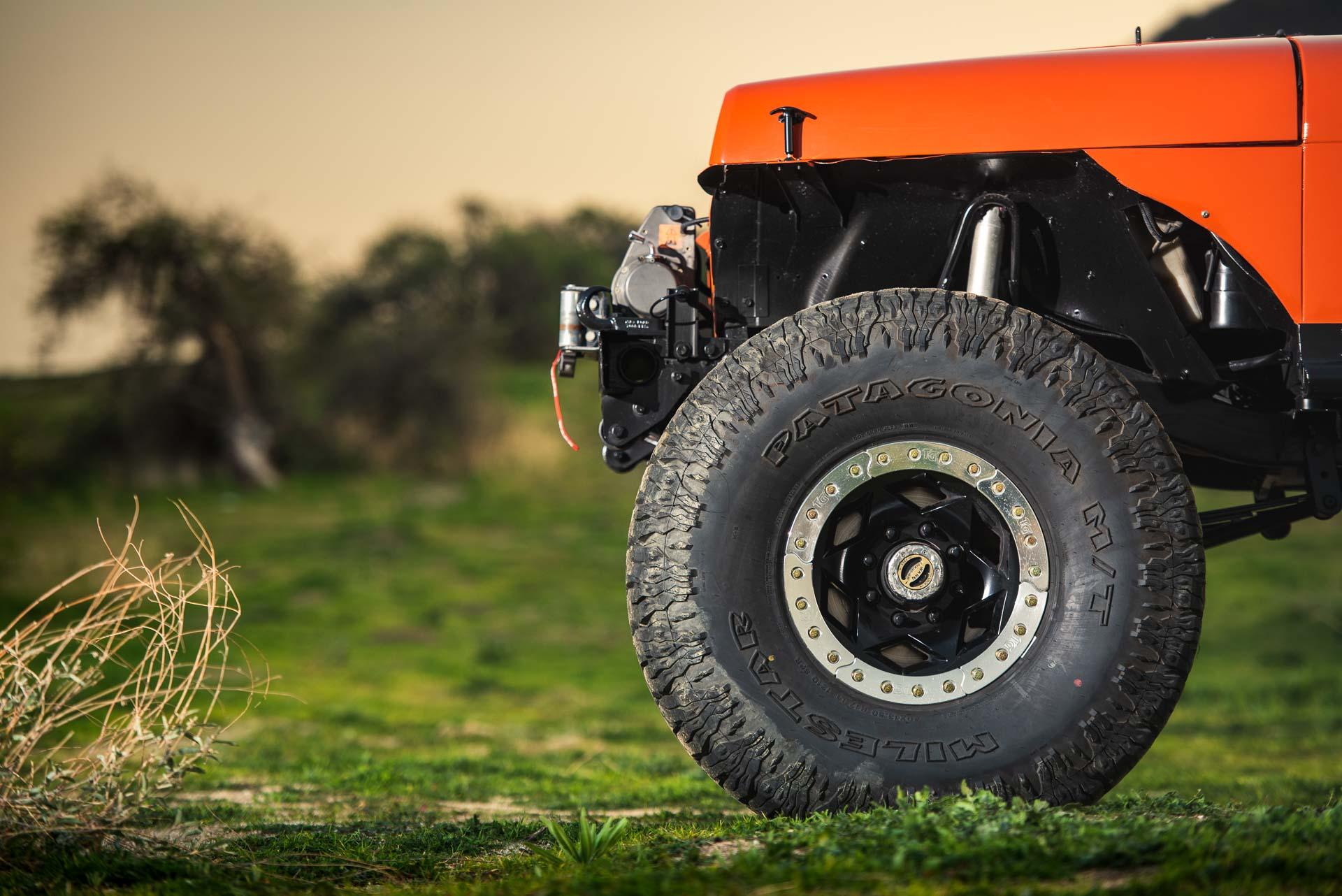 Patagonia MT tires on Jeep YJ