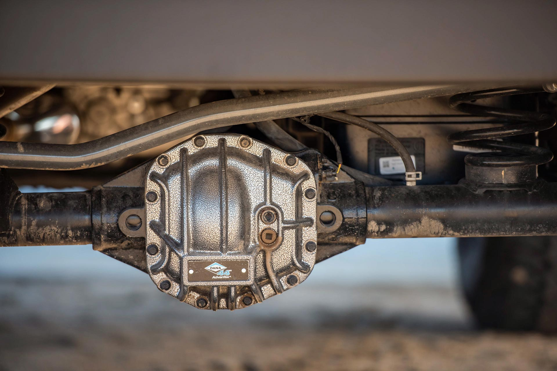 Dana Differential Close up on Jeep JL