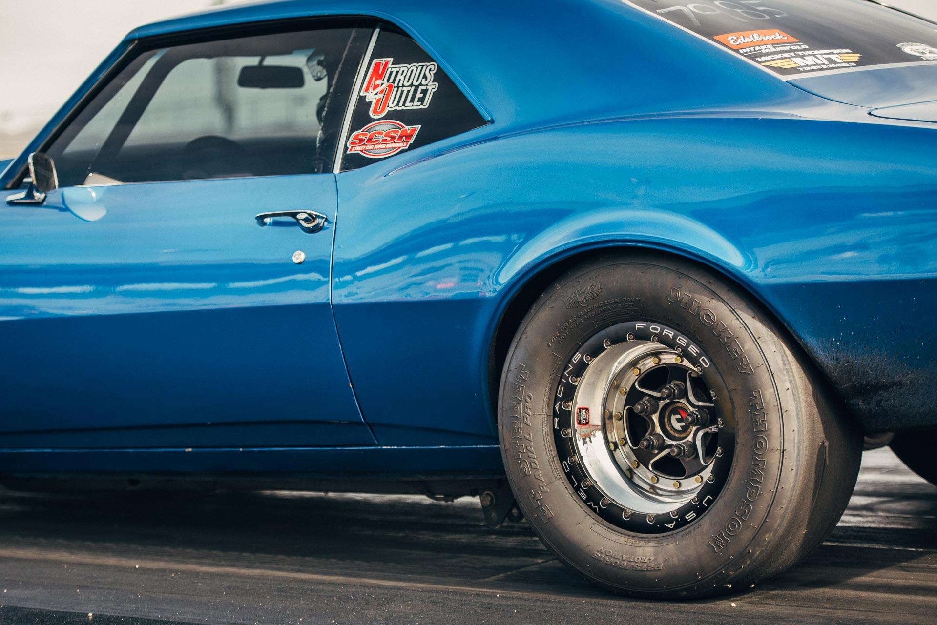 Radial Ply tires on a drag car
