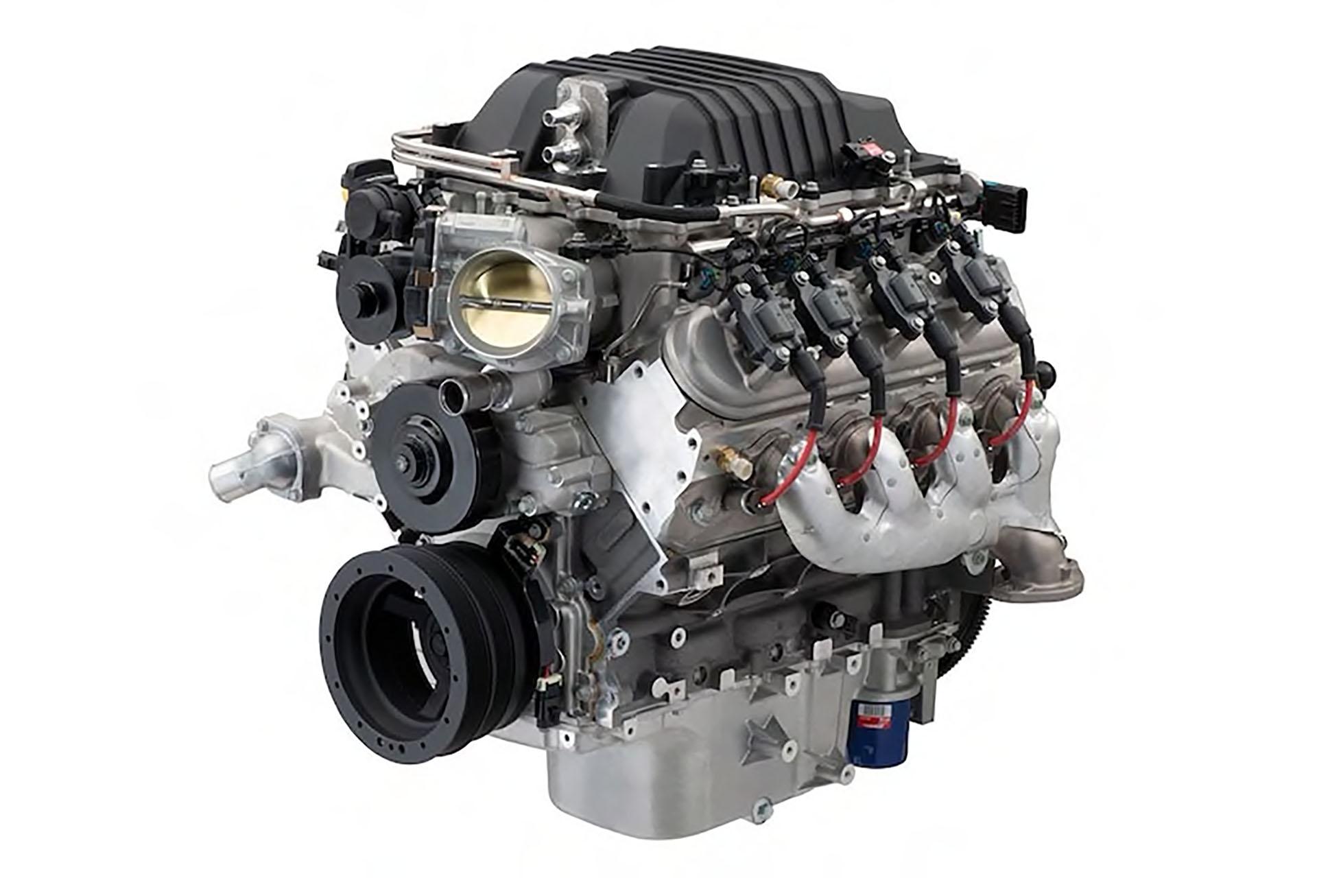 Chevy small block LSA engine