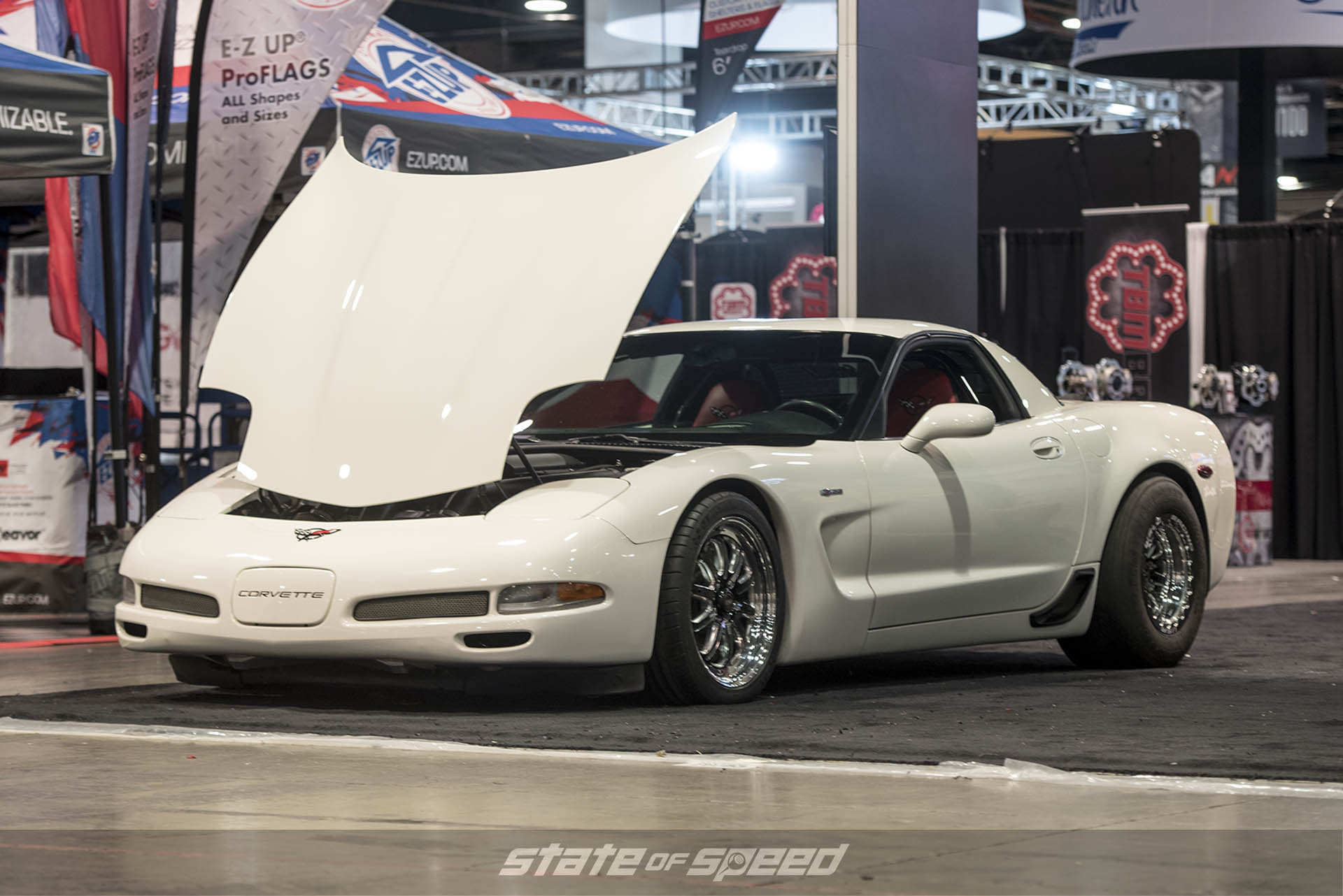Corvette C6 with a Chevy LS1 engine