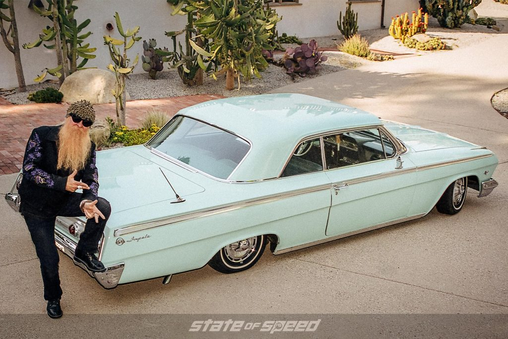 Billy Gibbons from ZZ Top with the Slampala Impala