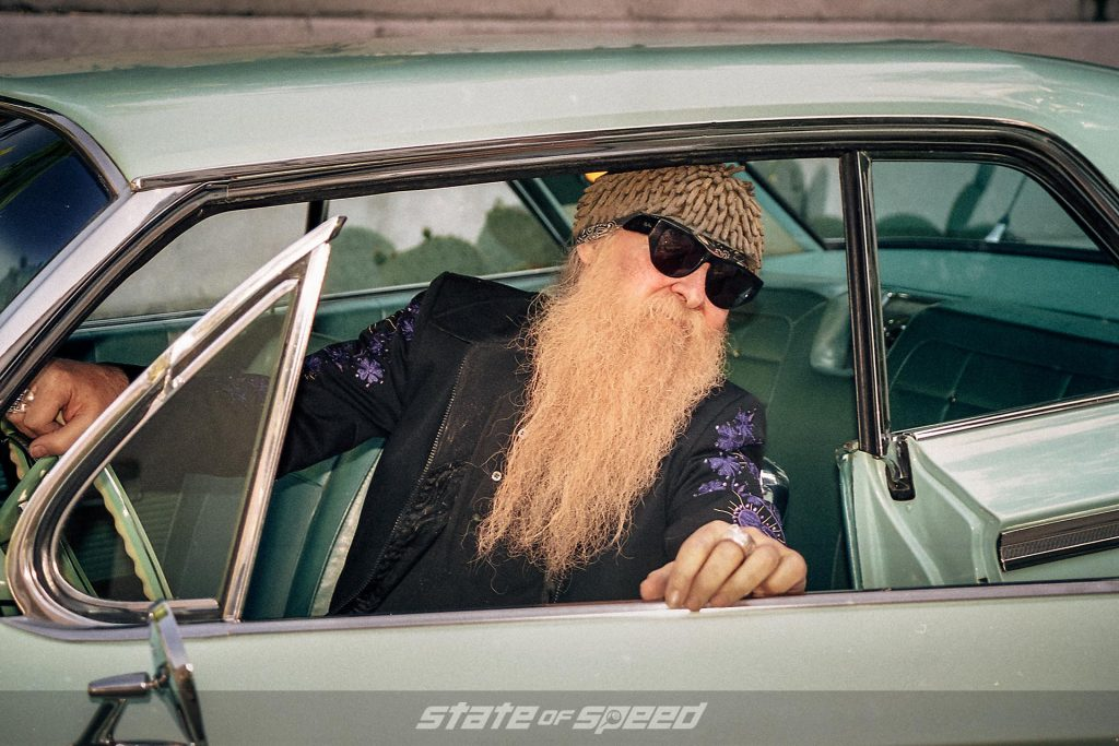 Billy Gibbons in the Slampala closeup
