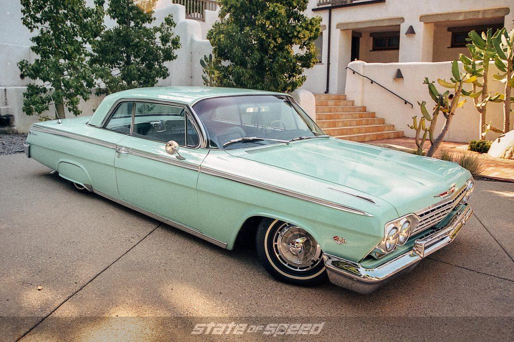 Mint Chevy Impala slammed