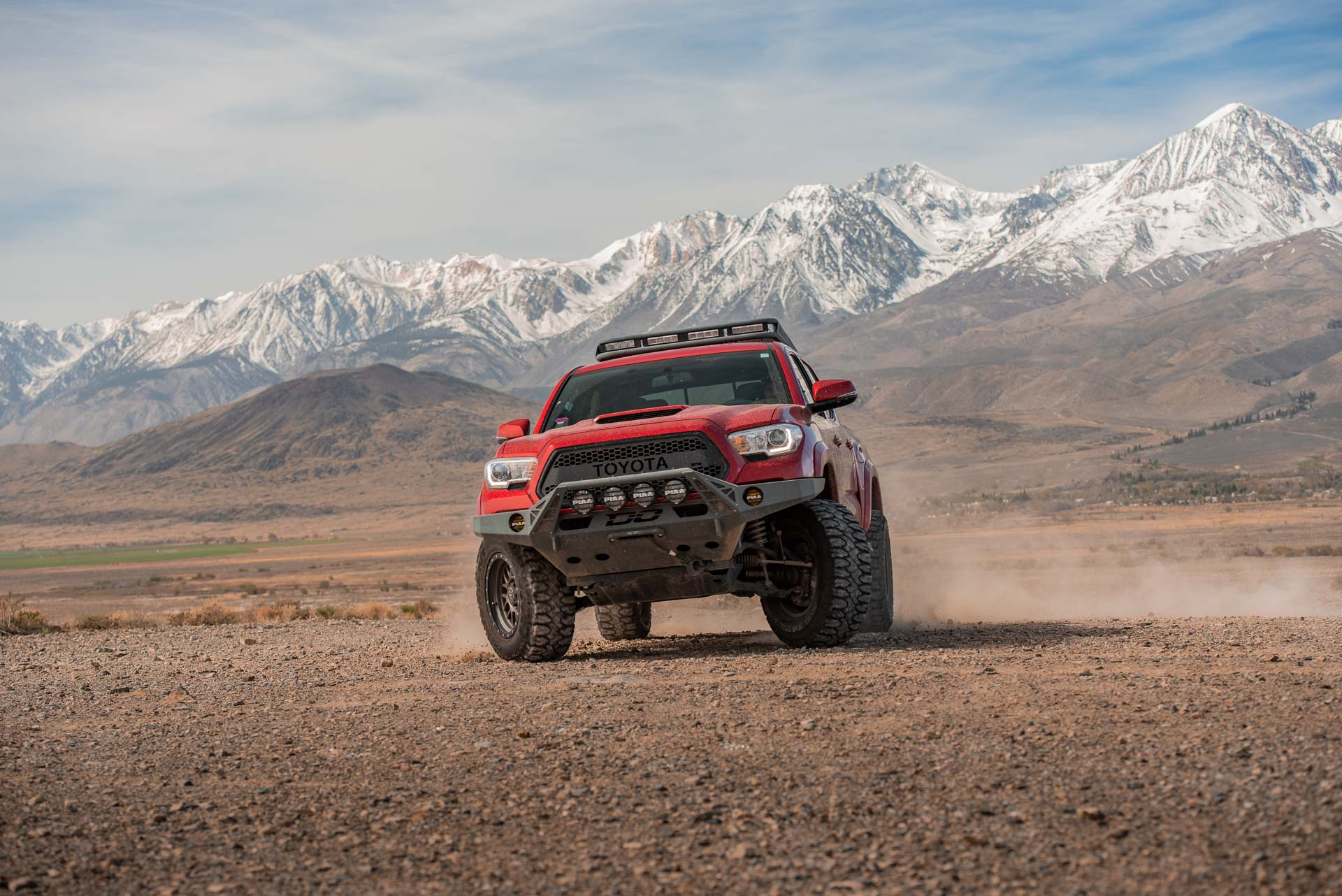 Toyota Tacoma with Milestar Patagonia MTs