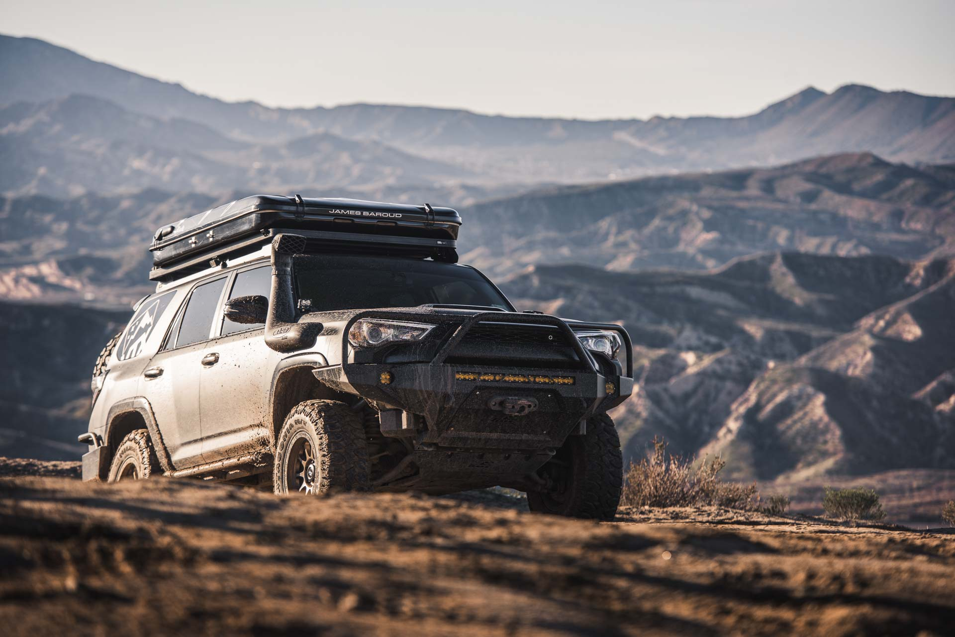 Toyota 4Runner with Milestar Patagonia MTs 4 wheeling it