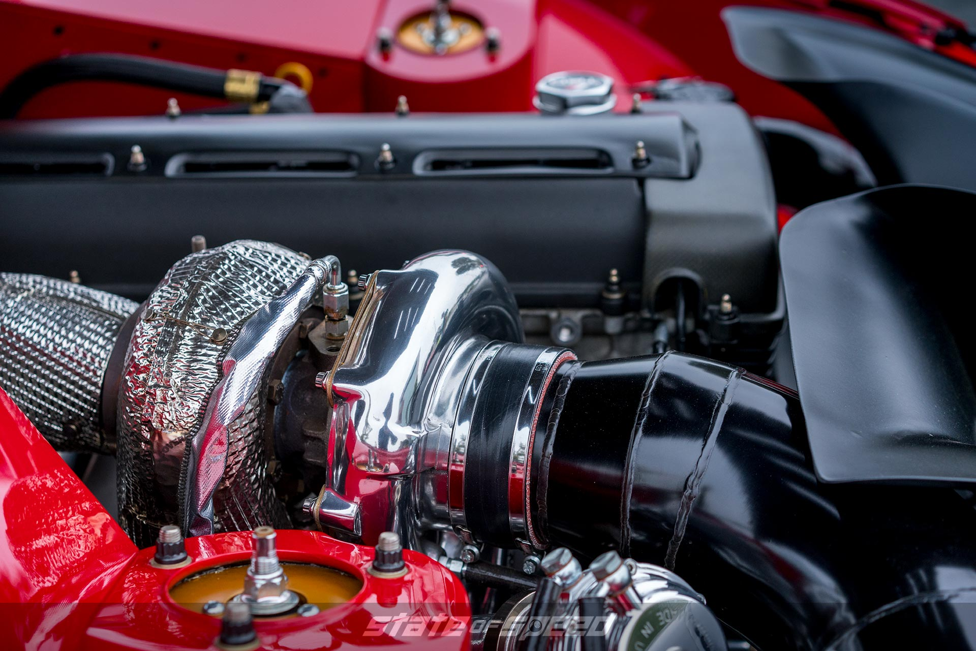 Toyota Supra with turbo