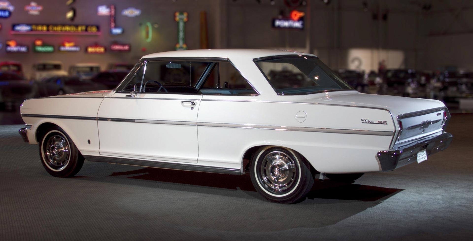 1963 Chevy Nova at a car show
