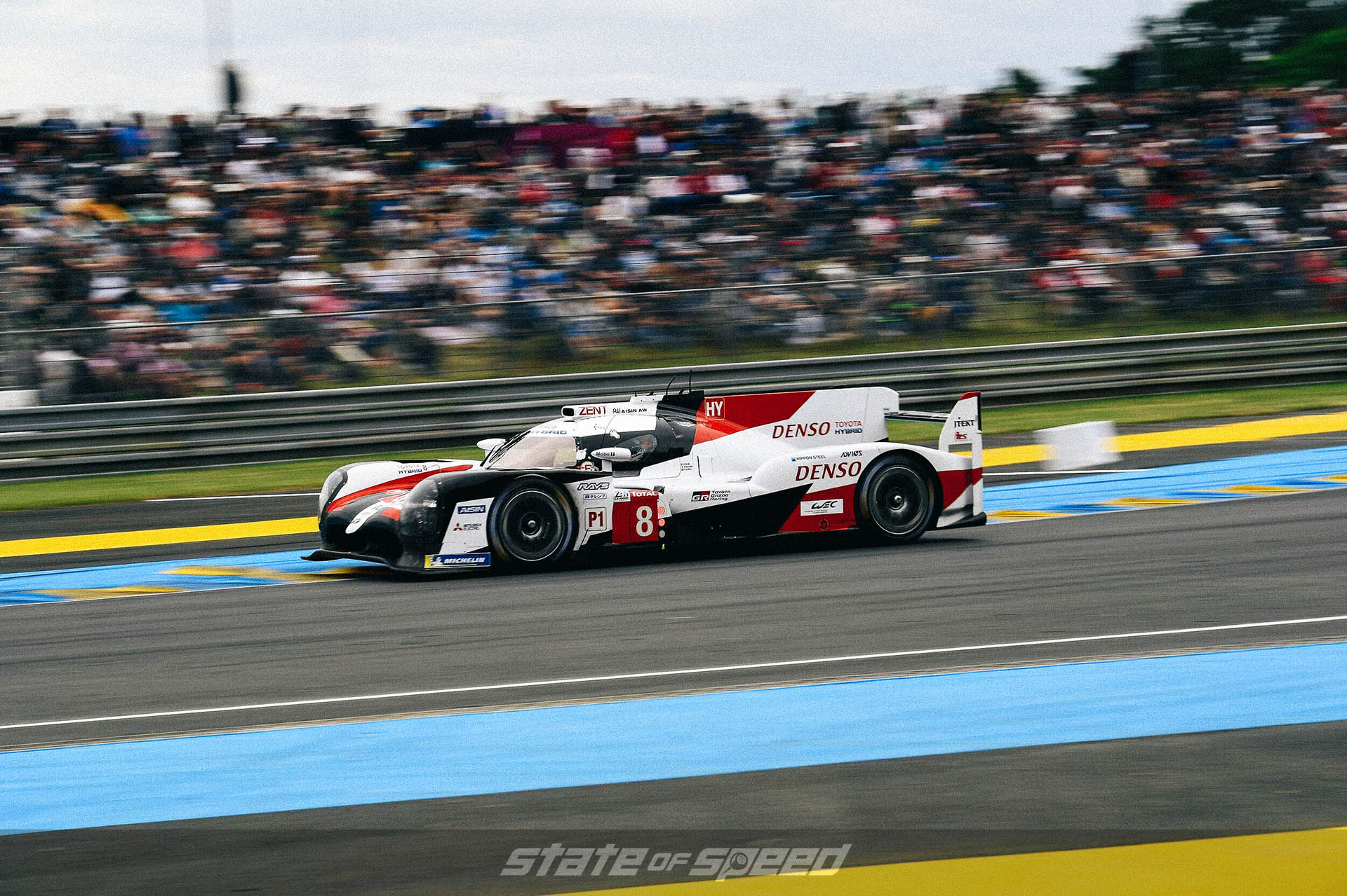 Toyota Gazoo Racing Team at Le Mans