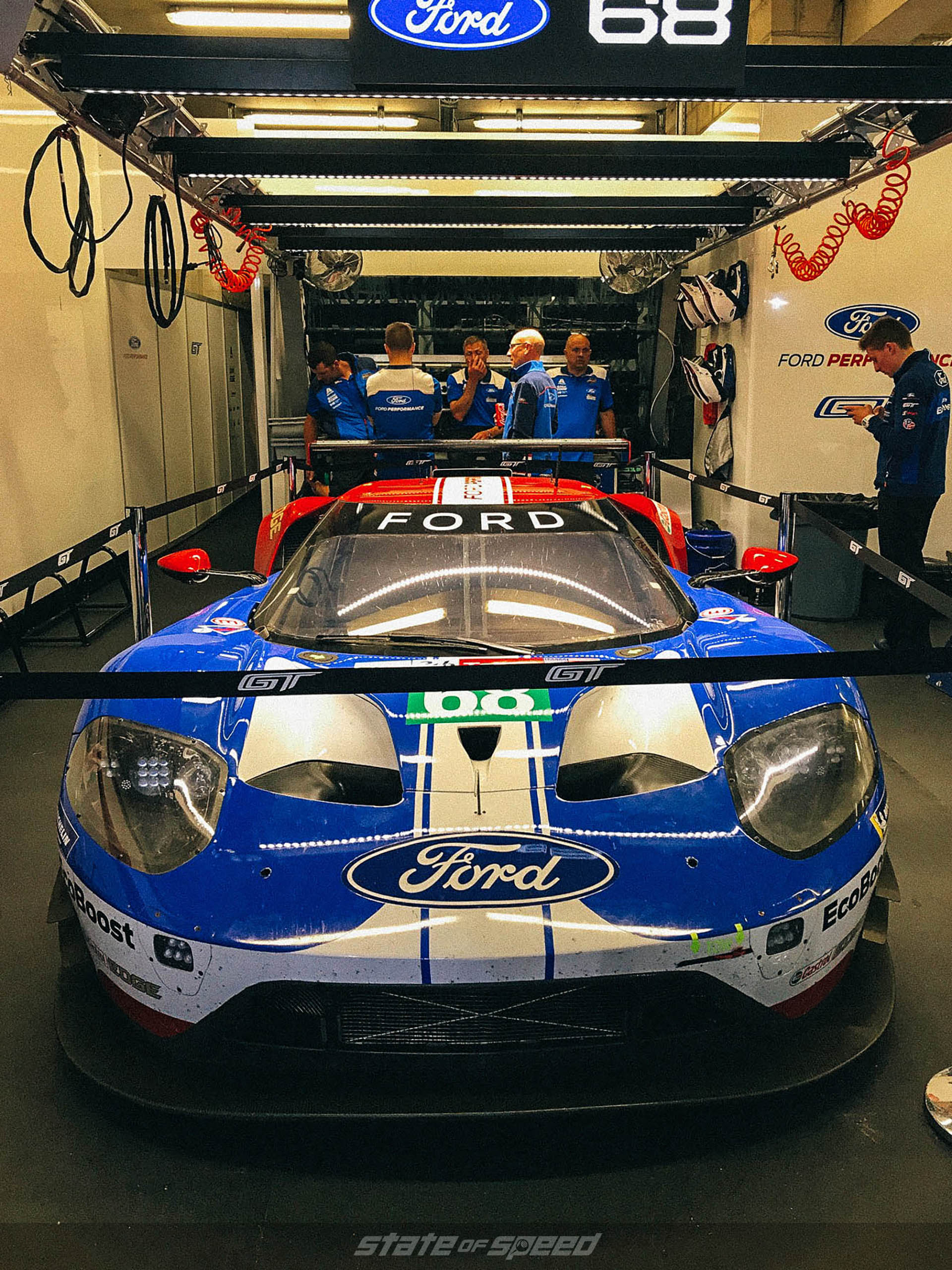Ford Racing Team at Le Mans