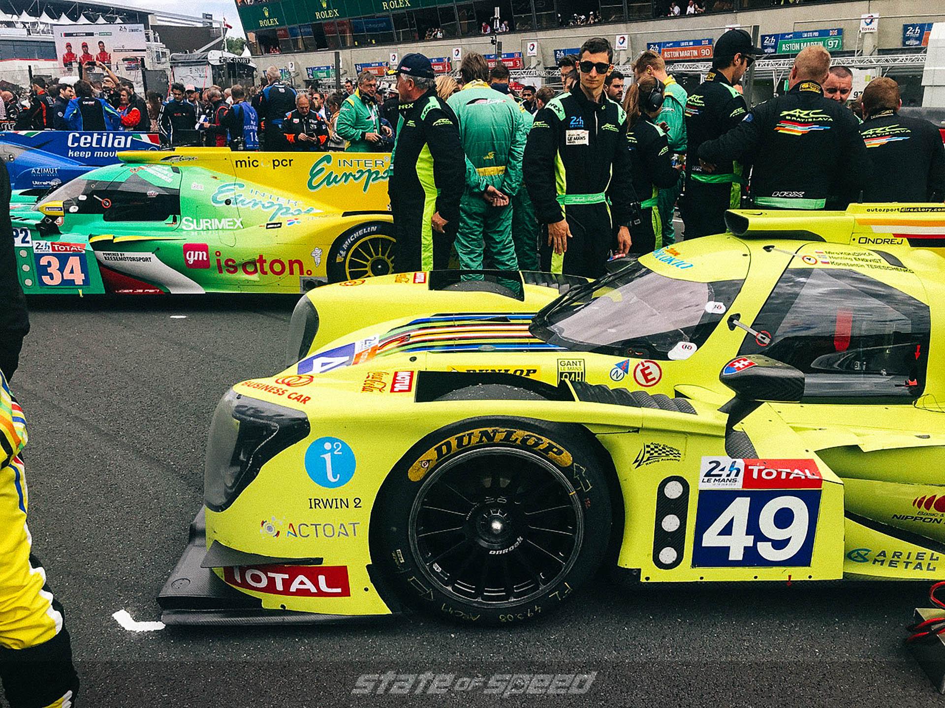 Teams at Le Mans