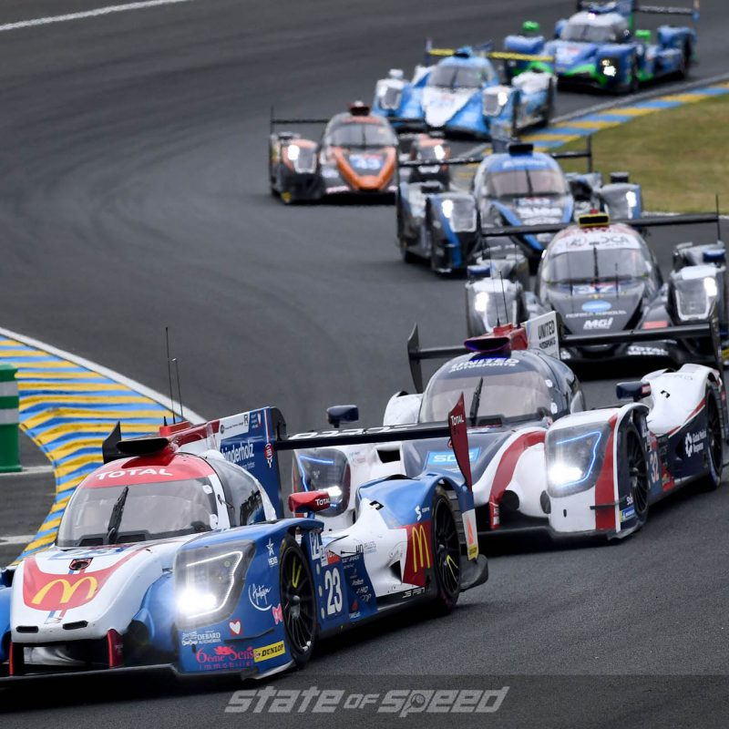 Racing at Le Mans