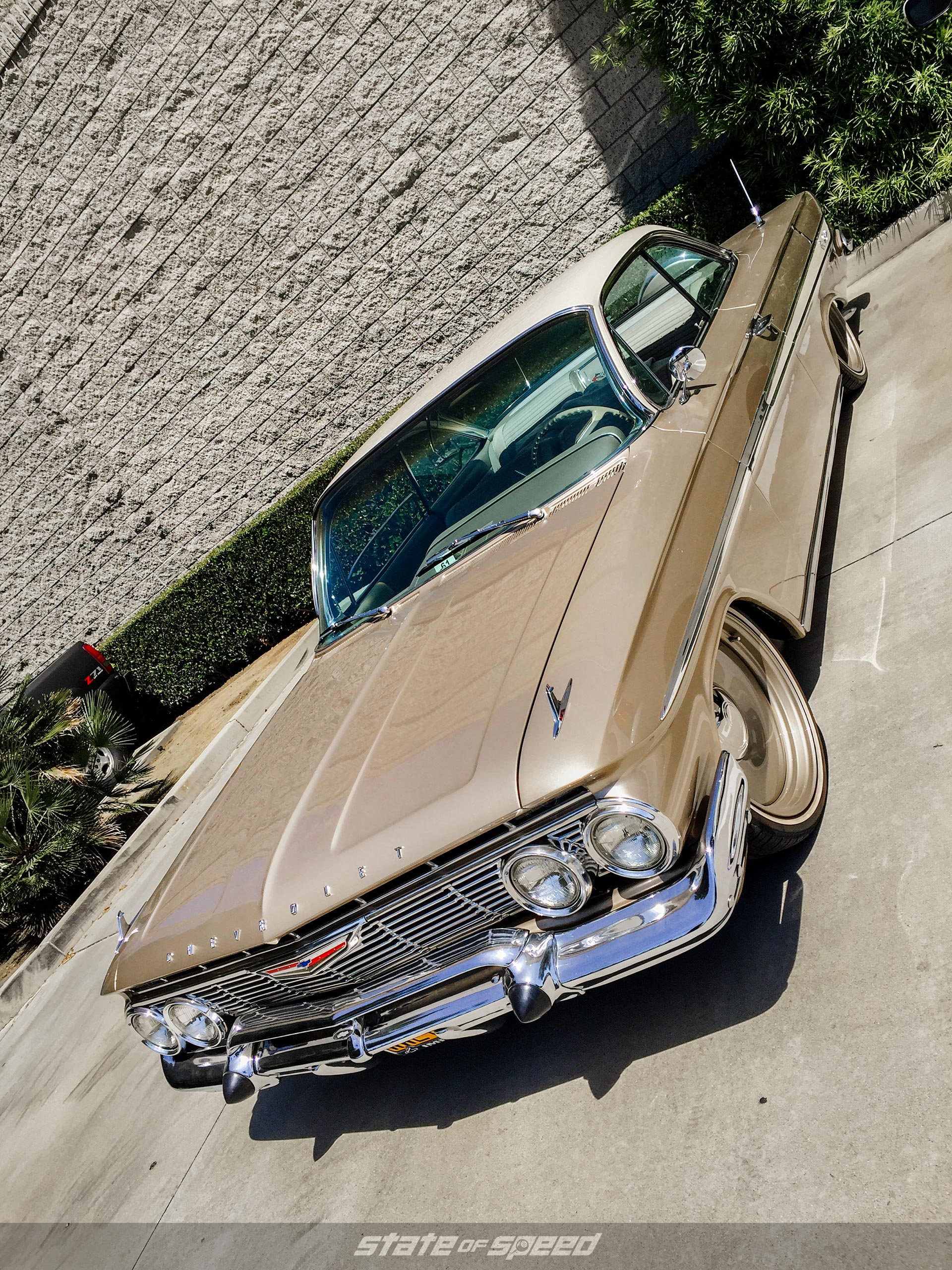 Brown Chevy Impala