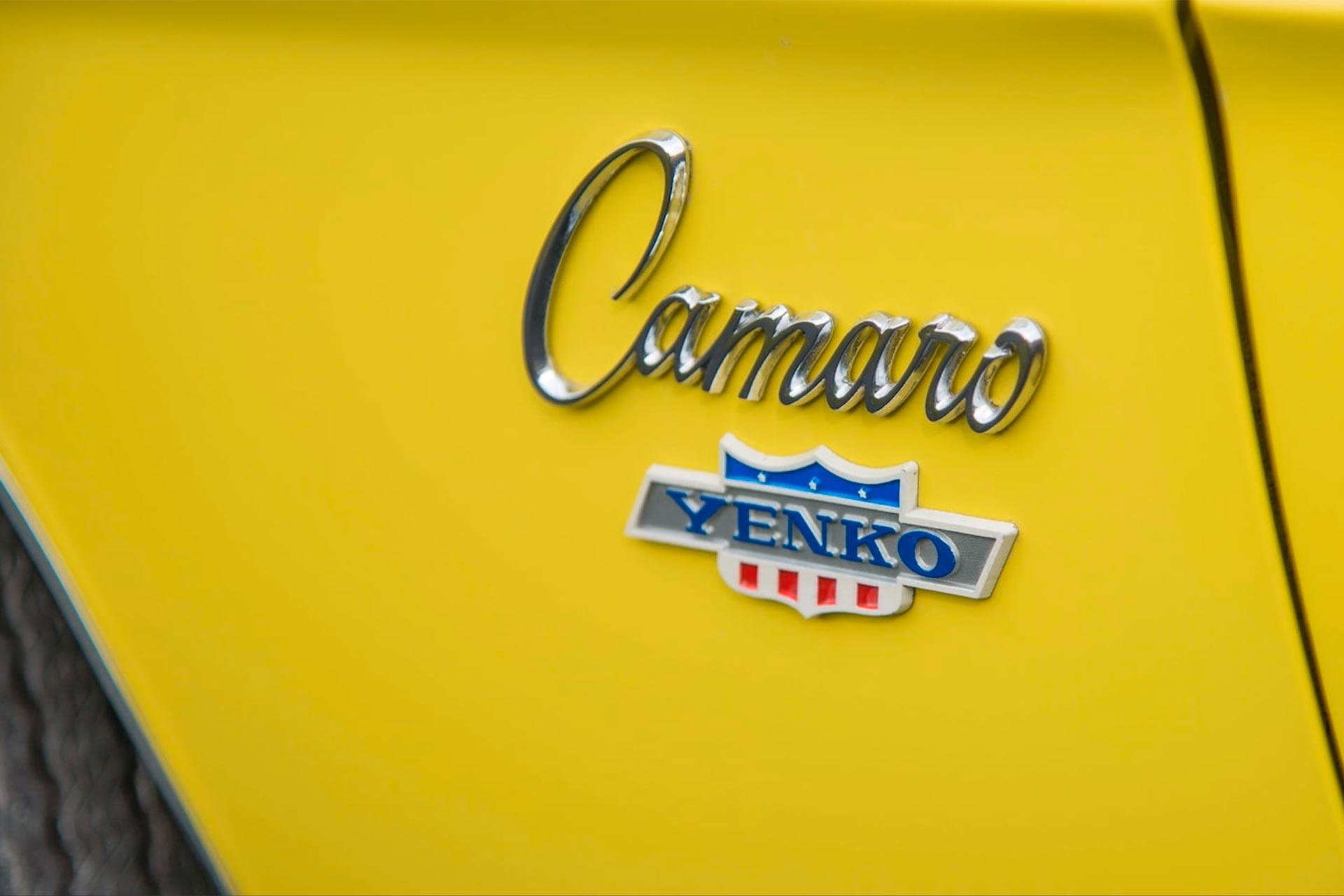 1969 Chevy Yenko/SC 427 Camaro badges