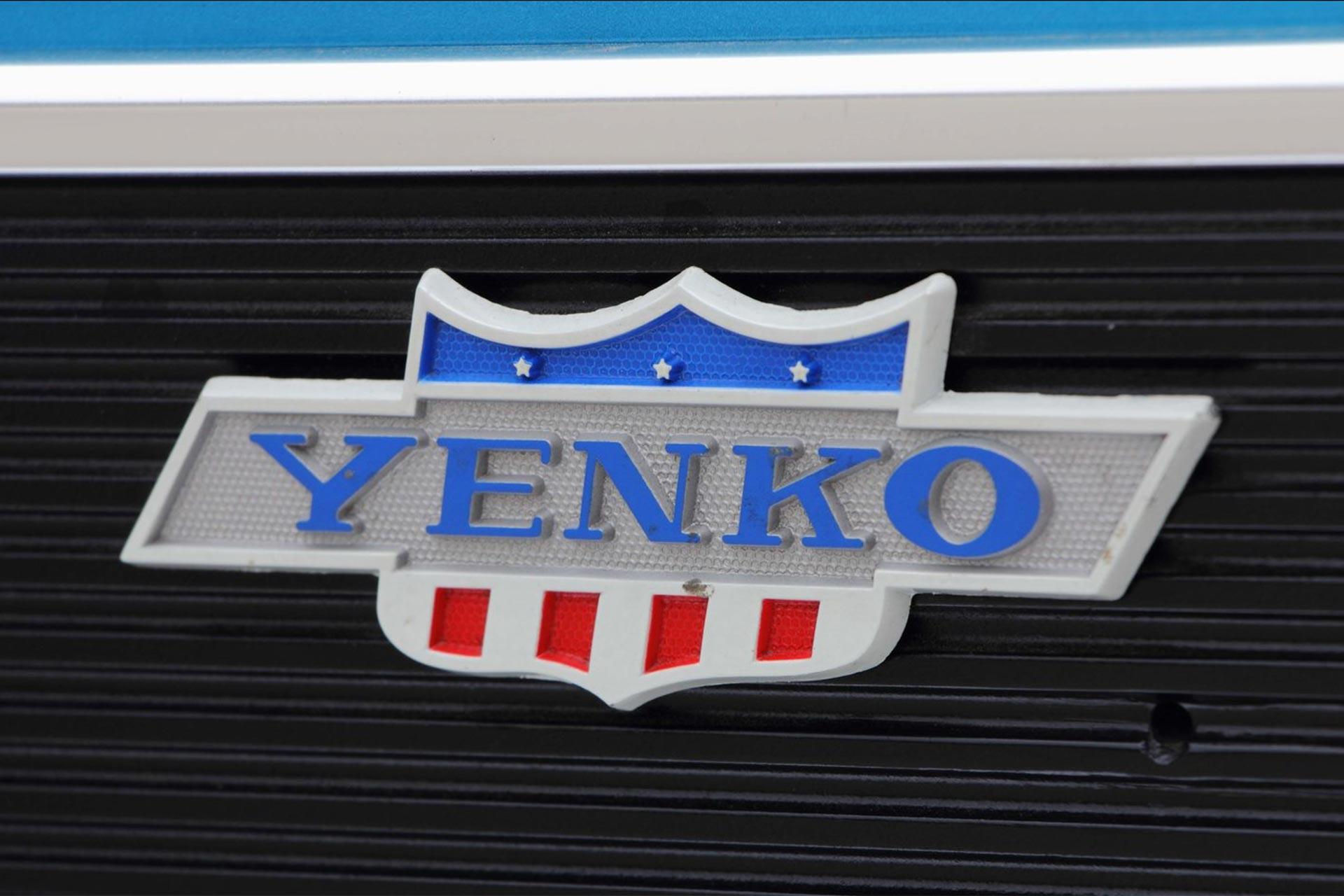 Detail shot of the Yenko badge